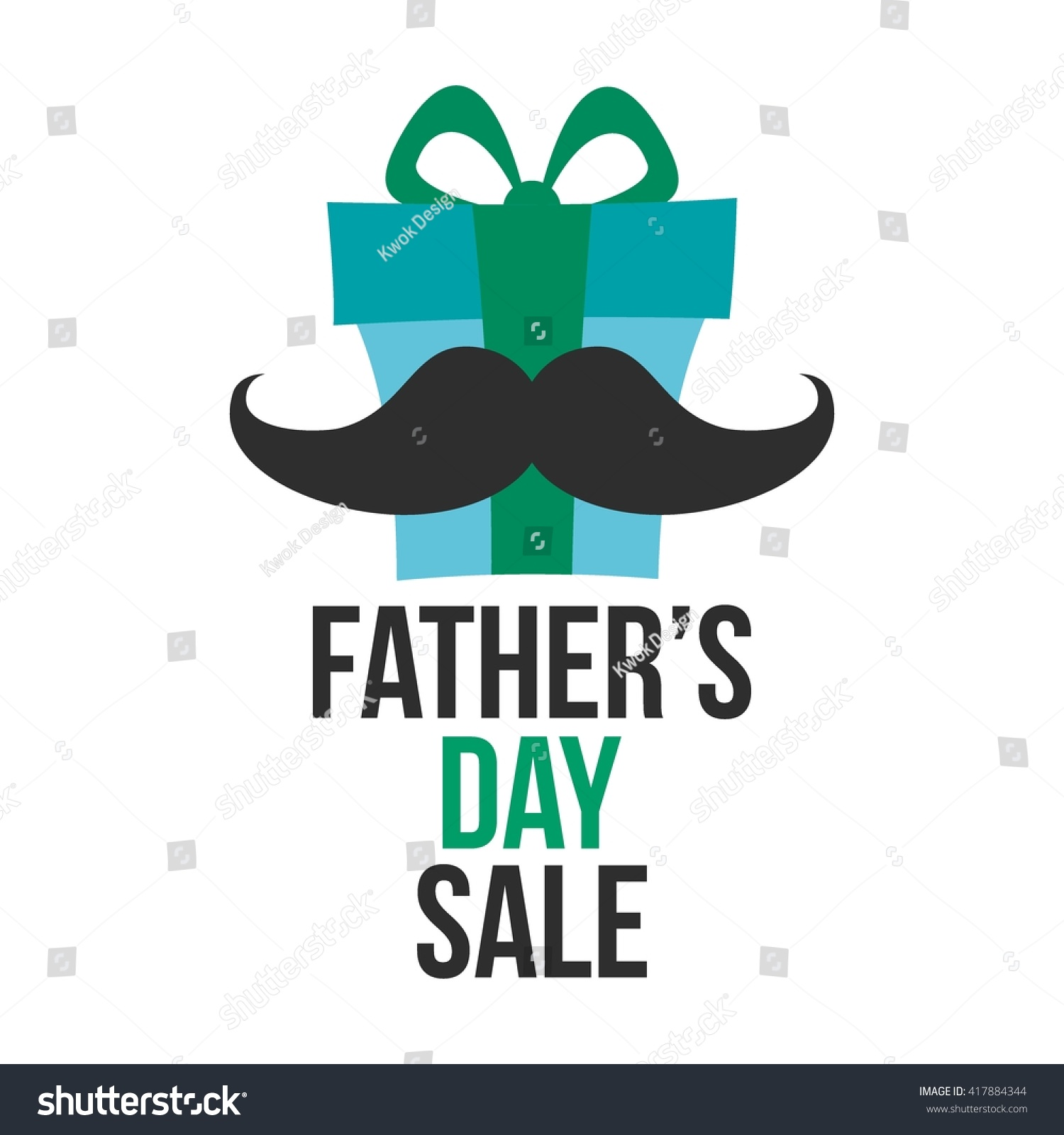 96b745fa73e6c Happy Fathers Day Sale Vector Illustration Stock Vector (Royalty ...