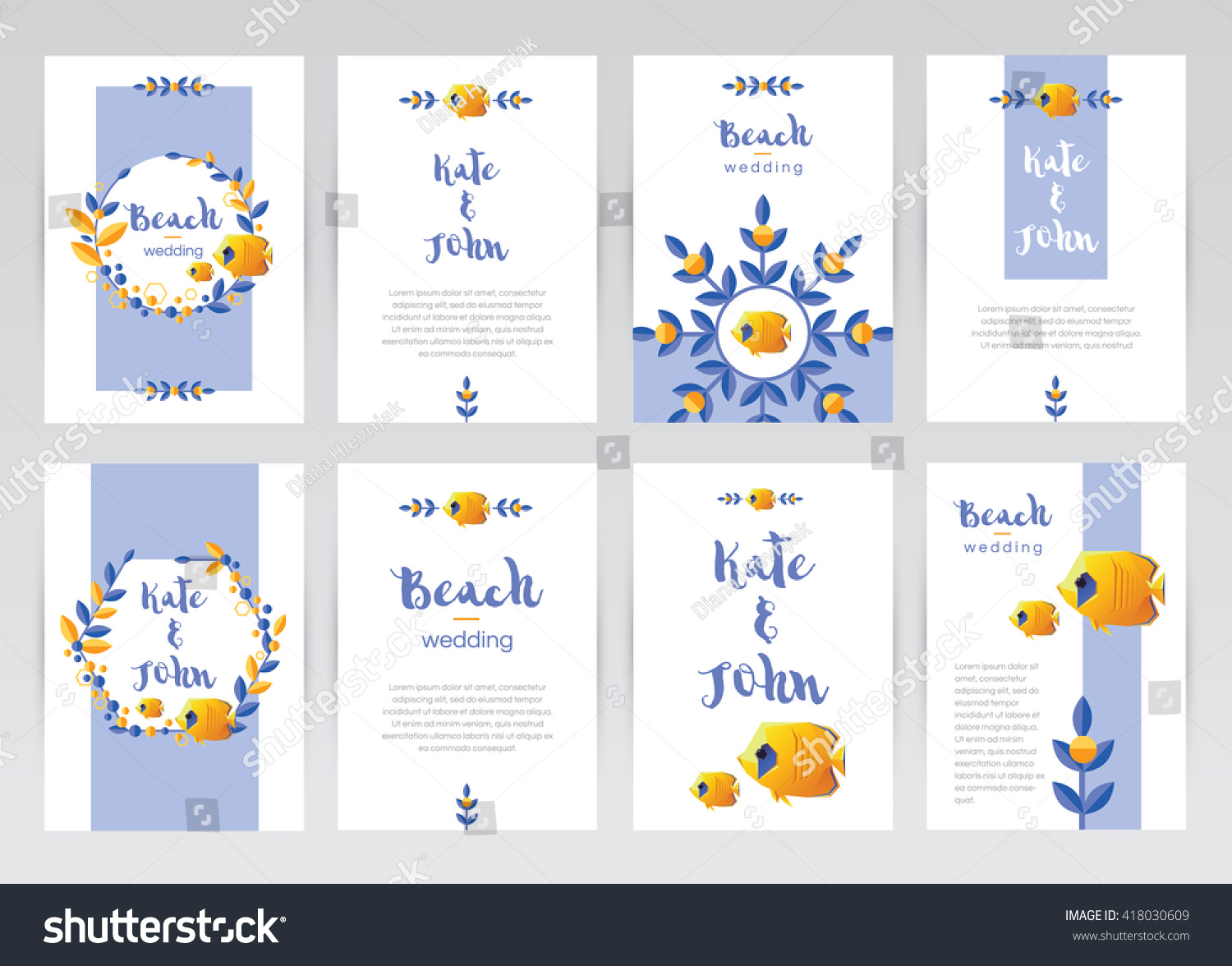 Awesome Blue And Yellow Wedding Theme Mold - The Wedding Ideas ...