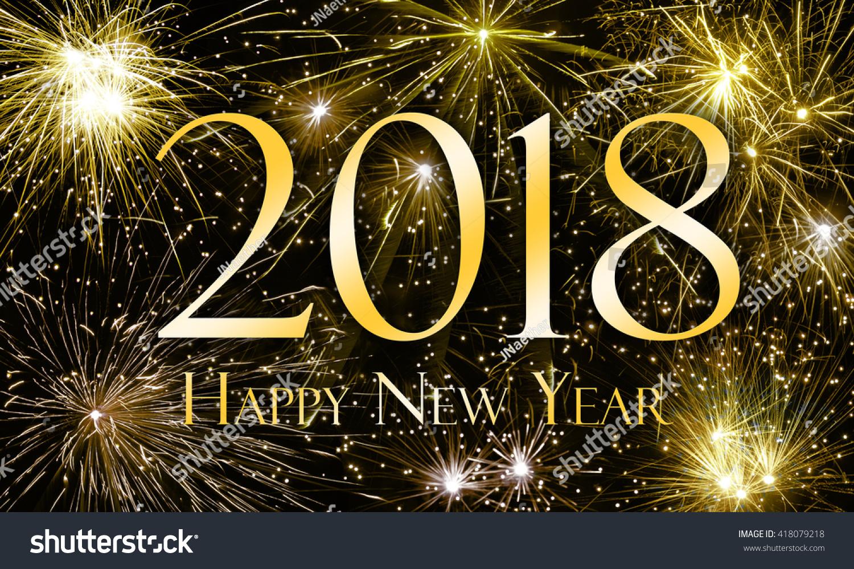Royalty-free Happy New Year 2018 #418079218 Stock Photo  Avopix.com