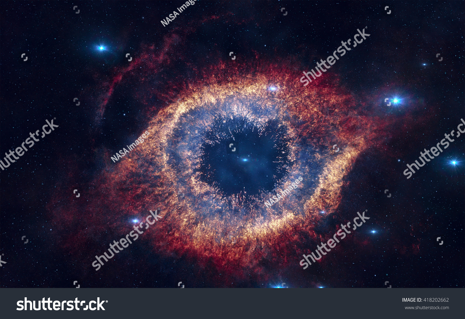 The Helix Nebula Is A Large Planetary Nebula Located In ...
