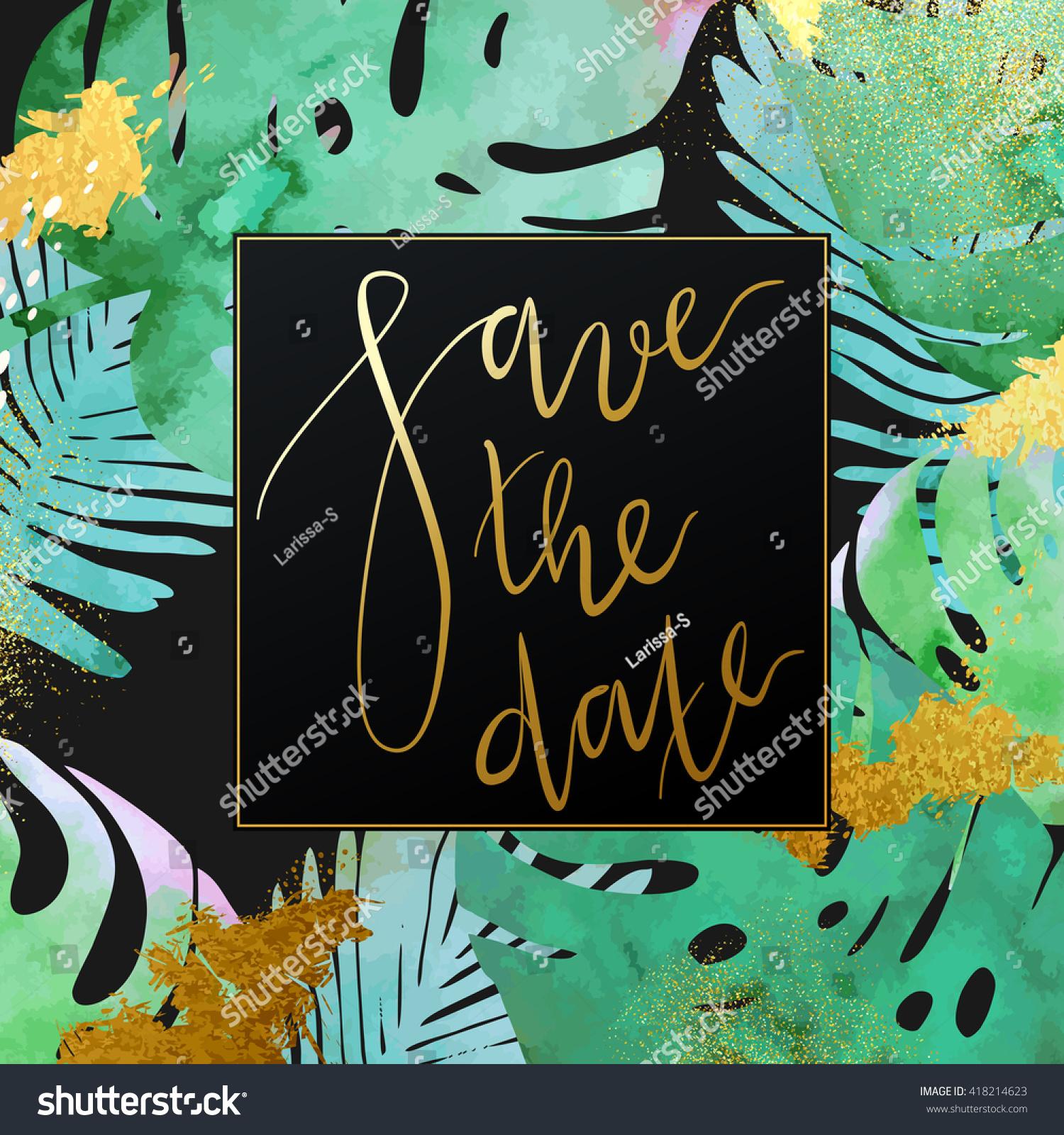 jungle invitation template
