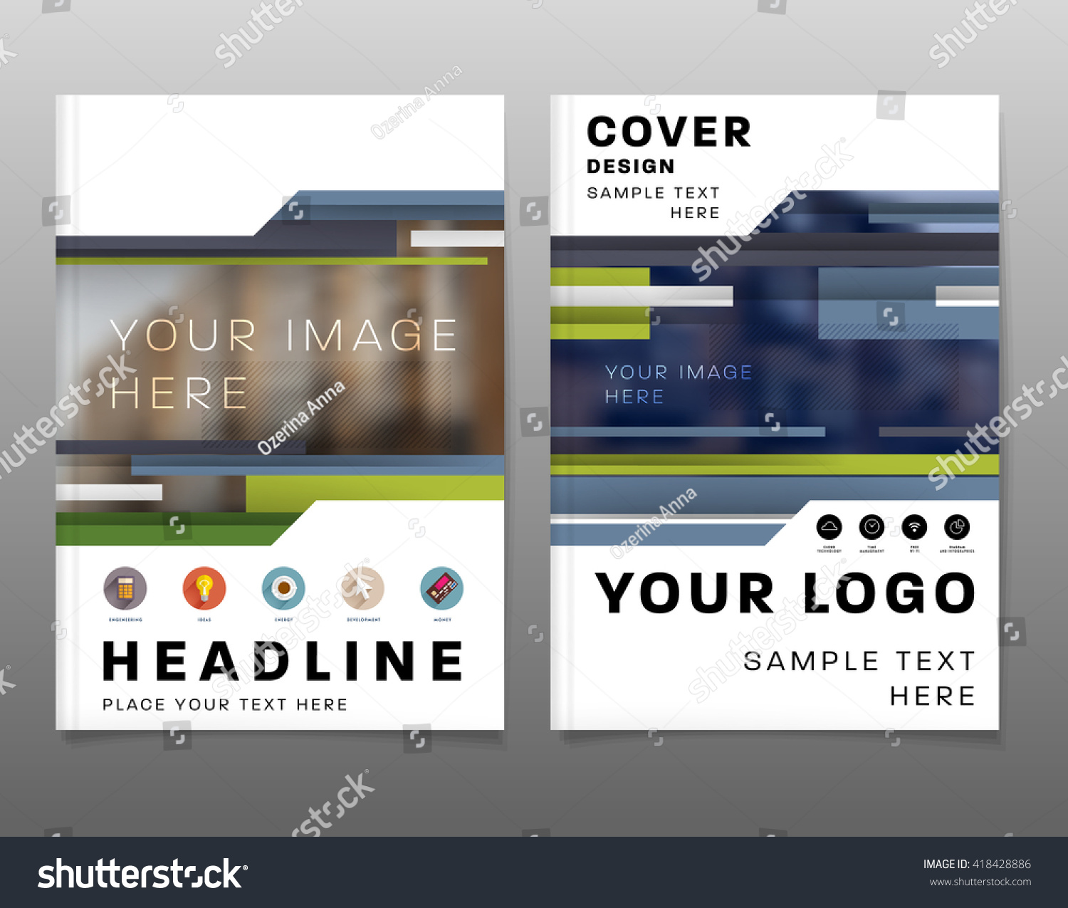 Abstract background geometric shapes frames presentation stock geometric shapes and frames for presentation annual reports flyers brochures magicingreecefo Gallery