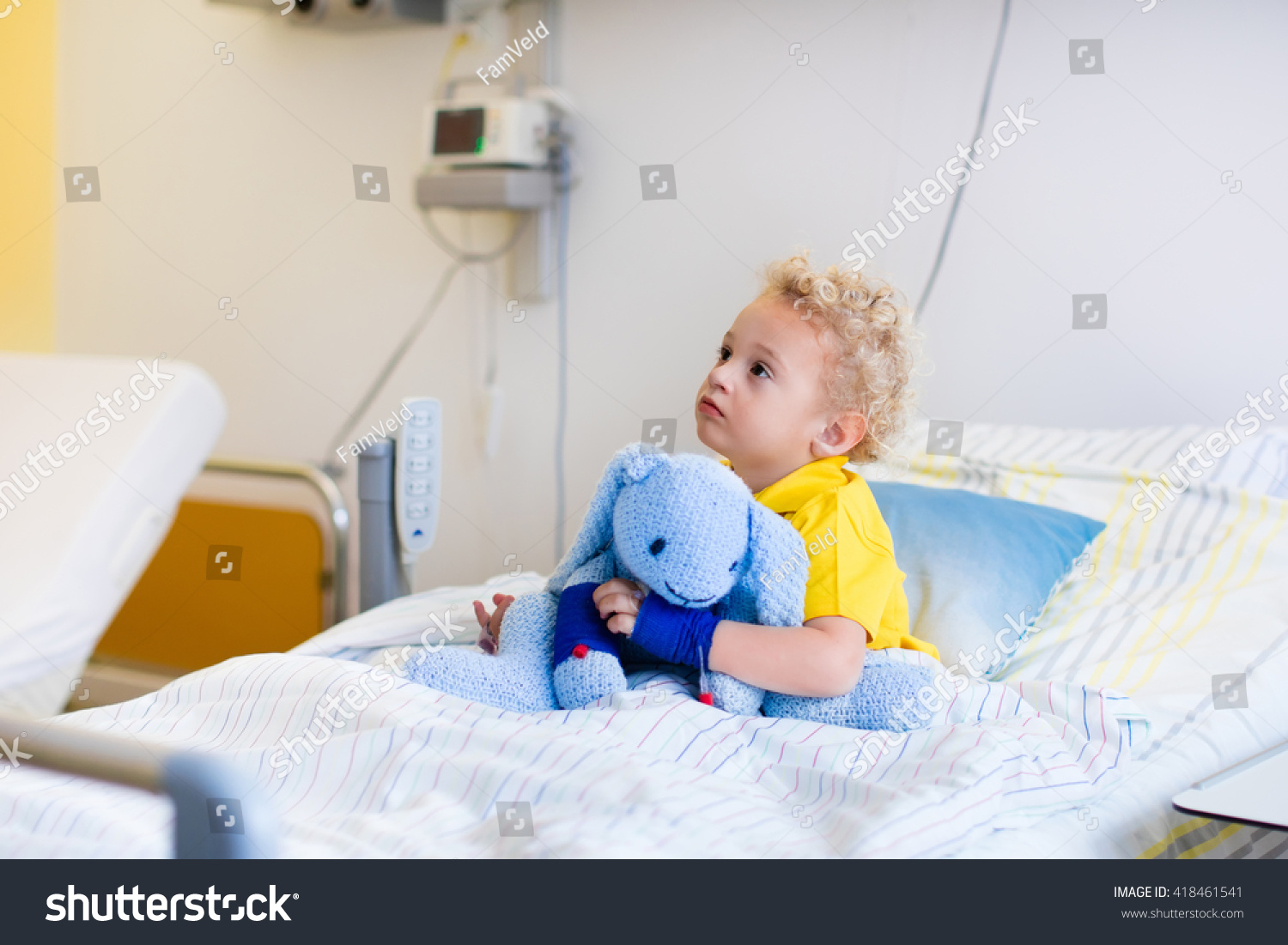 how to start an iv on a child