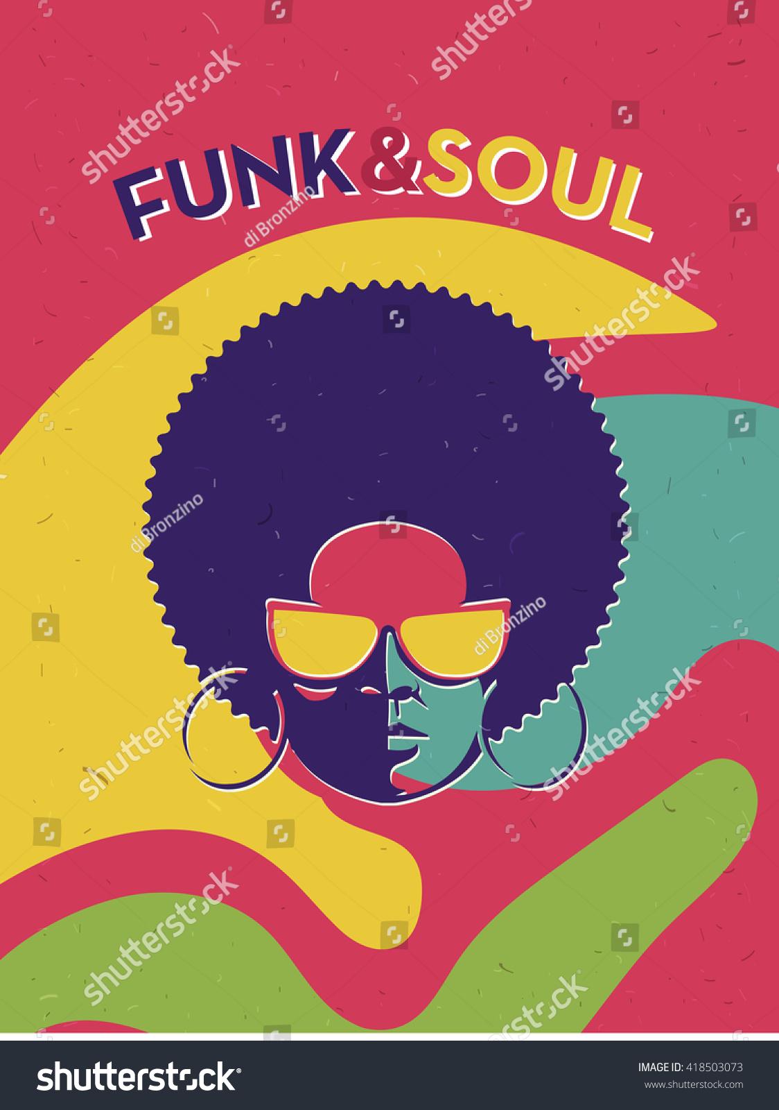 Disco Party Event Flyer Creative Vintage Stock-Vektorgrafik ...