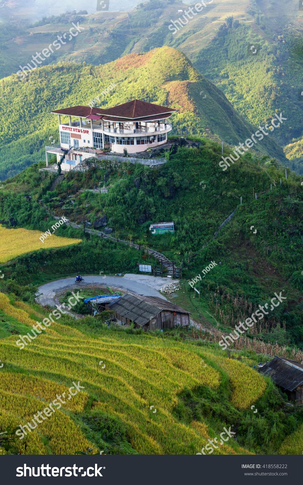 Beautiful landscape vietnam gallery diagram writing sample and guide sapa vietnam jan 2016 coffee shop stock photo 418558222 shutterstock sapa vietnam jan 2016 the coffee sciox Choice Image