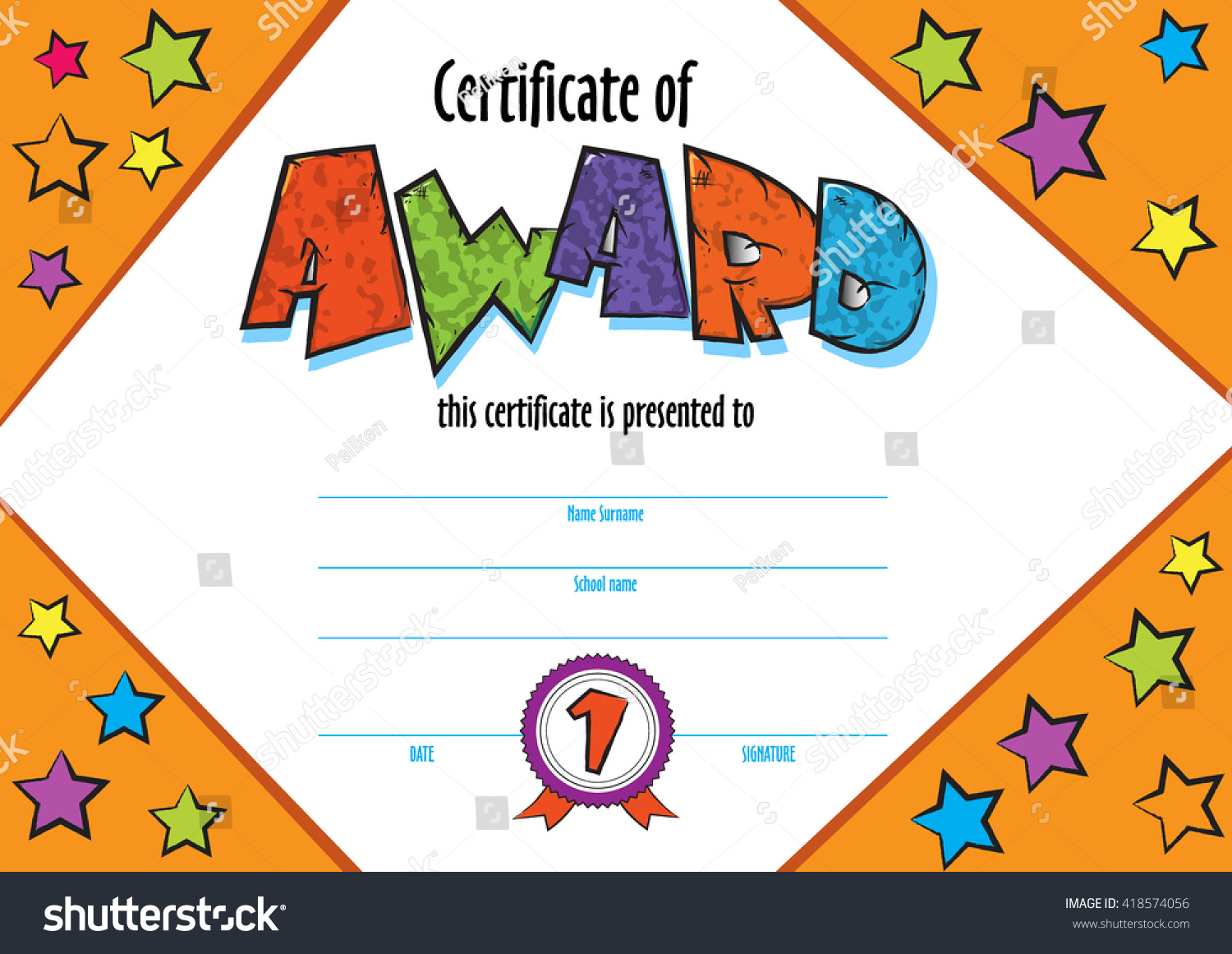 Blank Gift Certificate Template Free Download Terrific