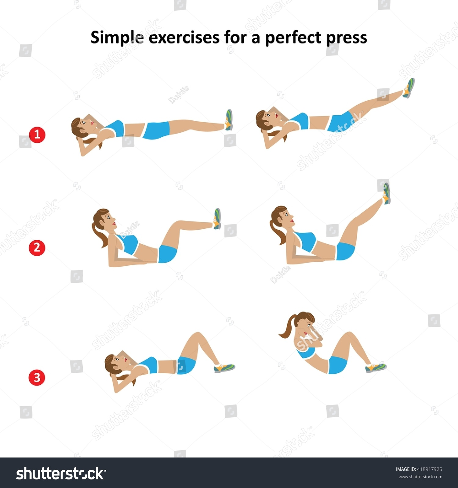 Exercise for flat stomach for ladies