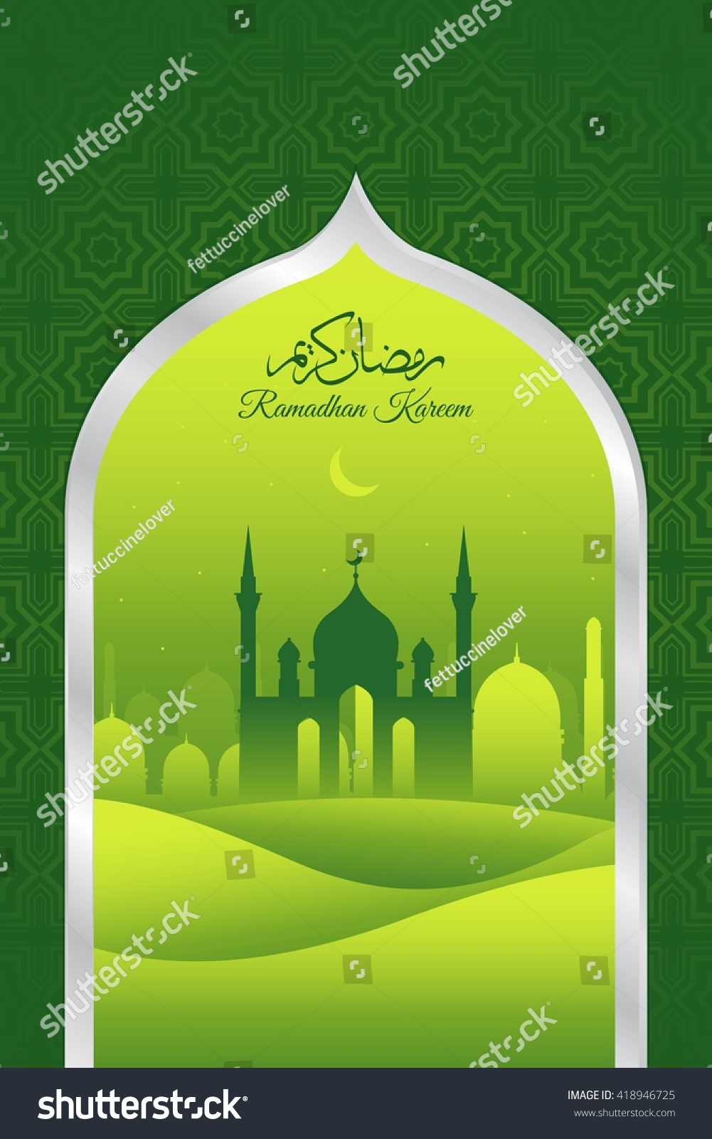 Creative Illustration Of Eid Milad Un Nabi Ez Canvas