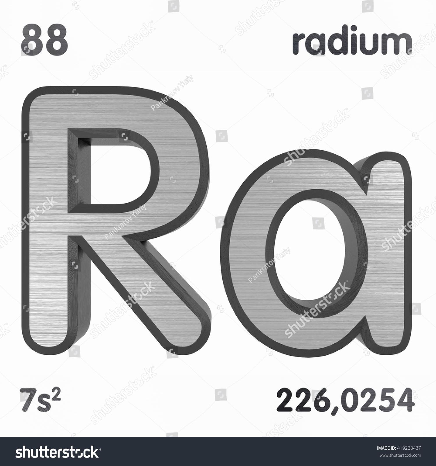 Radium periodic table choice image periodic table images periodic table elements radium 3d title stock illustration periodic table of elements radium 3d title isolated gamestrikefo Images