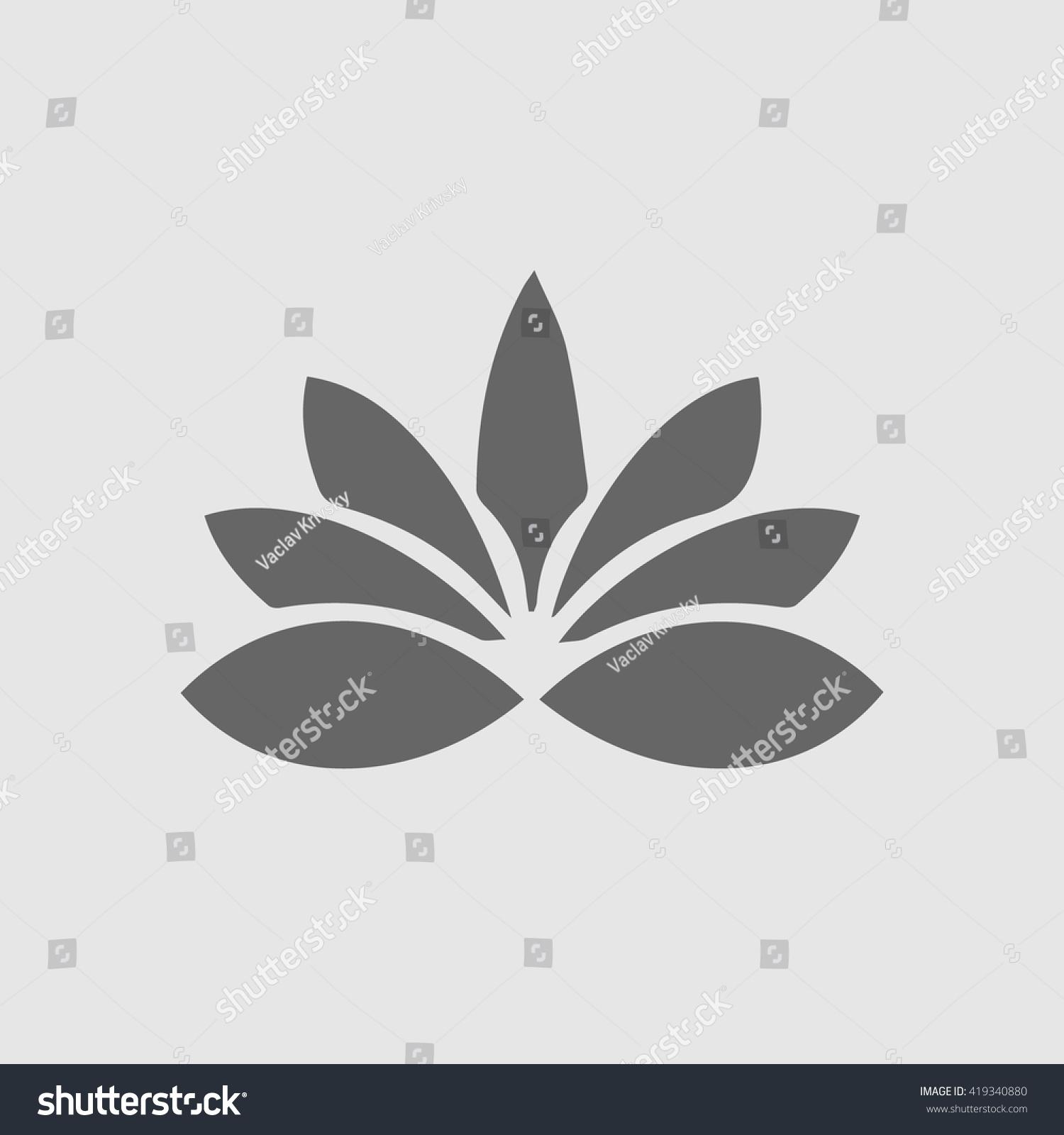 Simple Flower Symbol