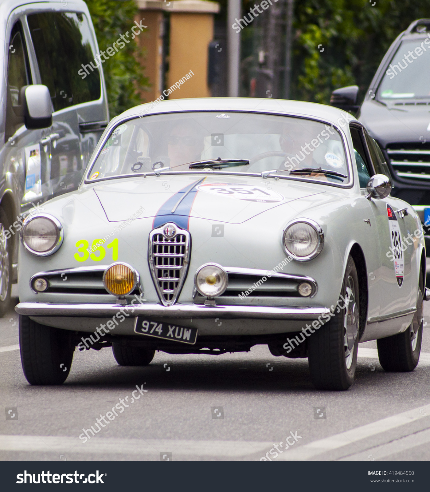 FANO ITALY MAY 16 Alfa Romeo Stock Edit Now