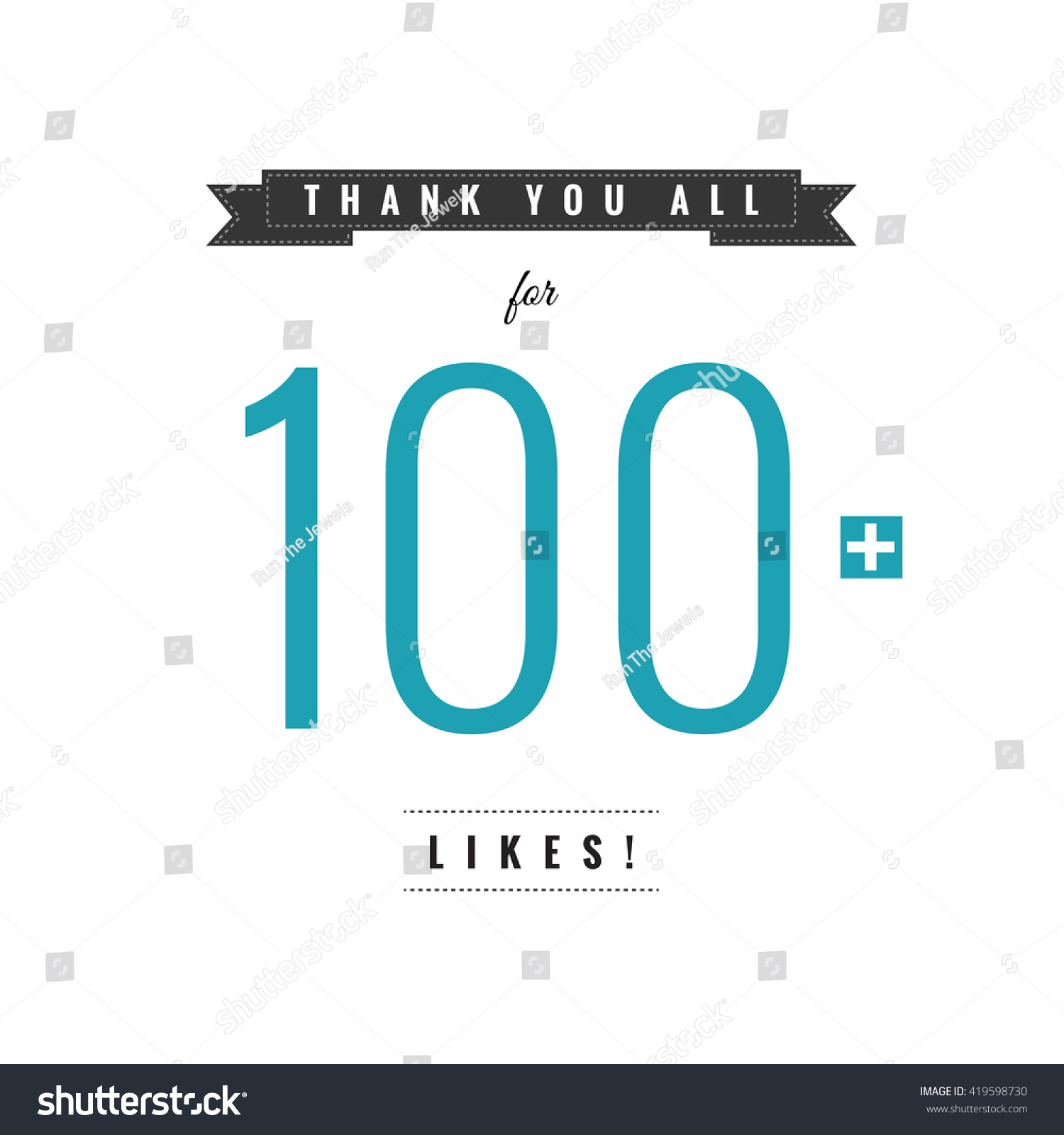 thank you all 100 likes vector stock vector 419598730 shutterstock rh shutterstock com all sectors of industry all sectors in construction