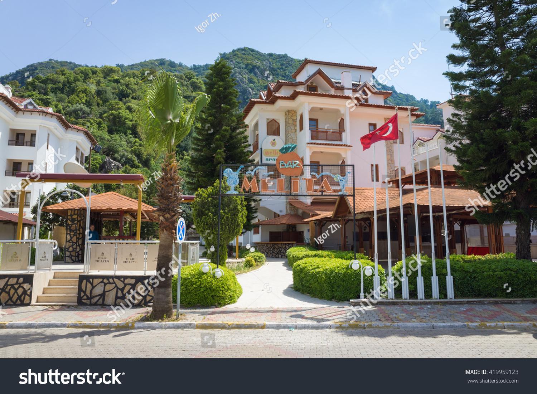 Hotel Melita Icmeler Turkey April 14 2016 Melita Stock Photo 419959123