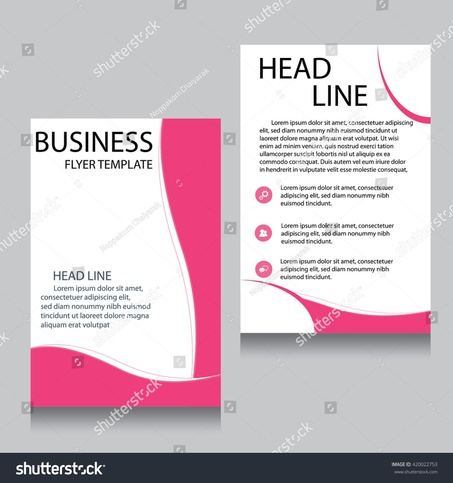 vector brochure flyer design layout template front page and back vector brochure flyer design layout template front page and back page templates website