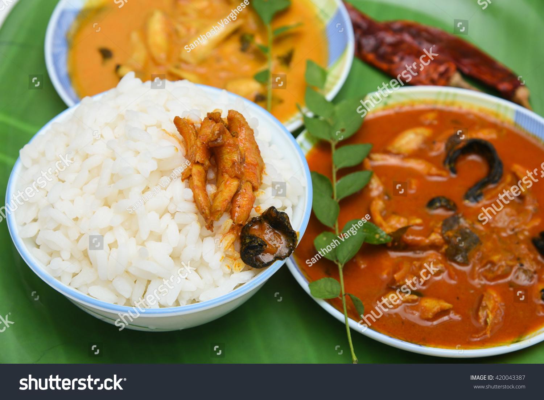Very Popular Dish Anchovy Masala Fish Stock Photo Edit Now
