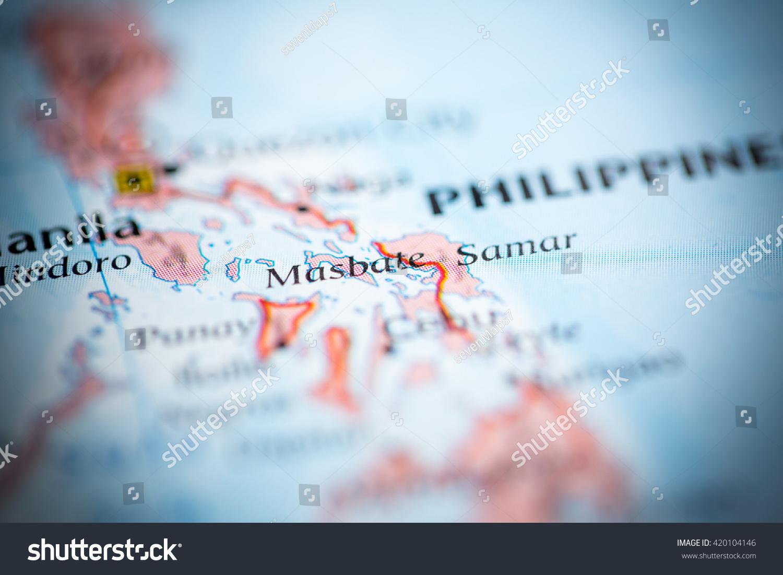 Masbate Philippines Map.Masbate Philippines Stock Photo Edit Now 420104146 Shutterstock