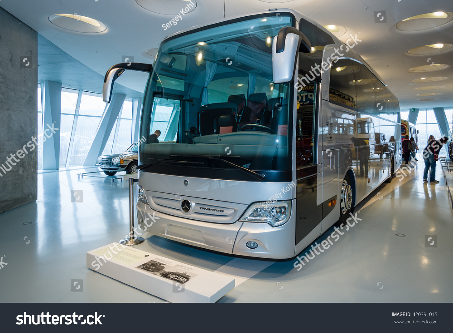 Stuttgart germany march 19 2016 touring stock photo for Mercedes benz touring coach