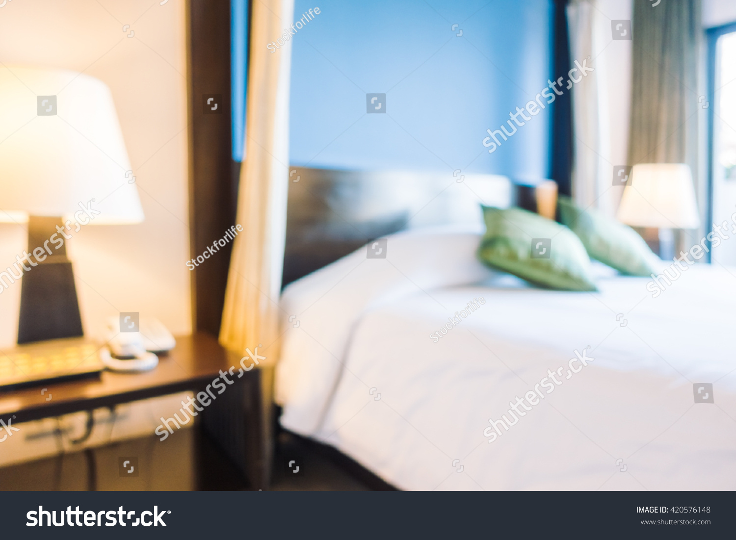bedroom interior equipped abstract - photo #16