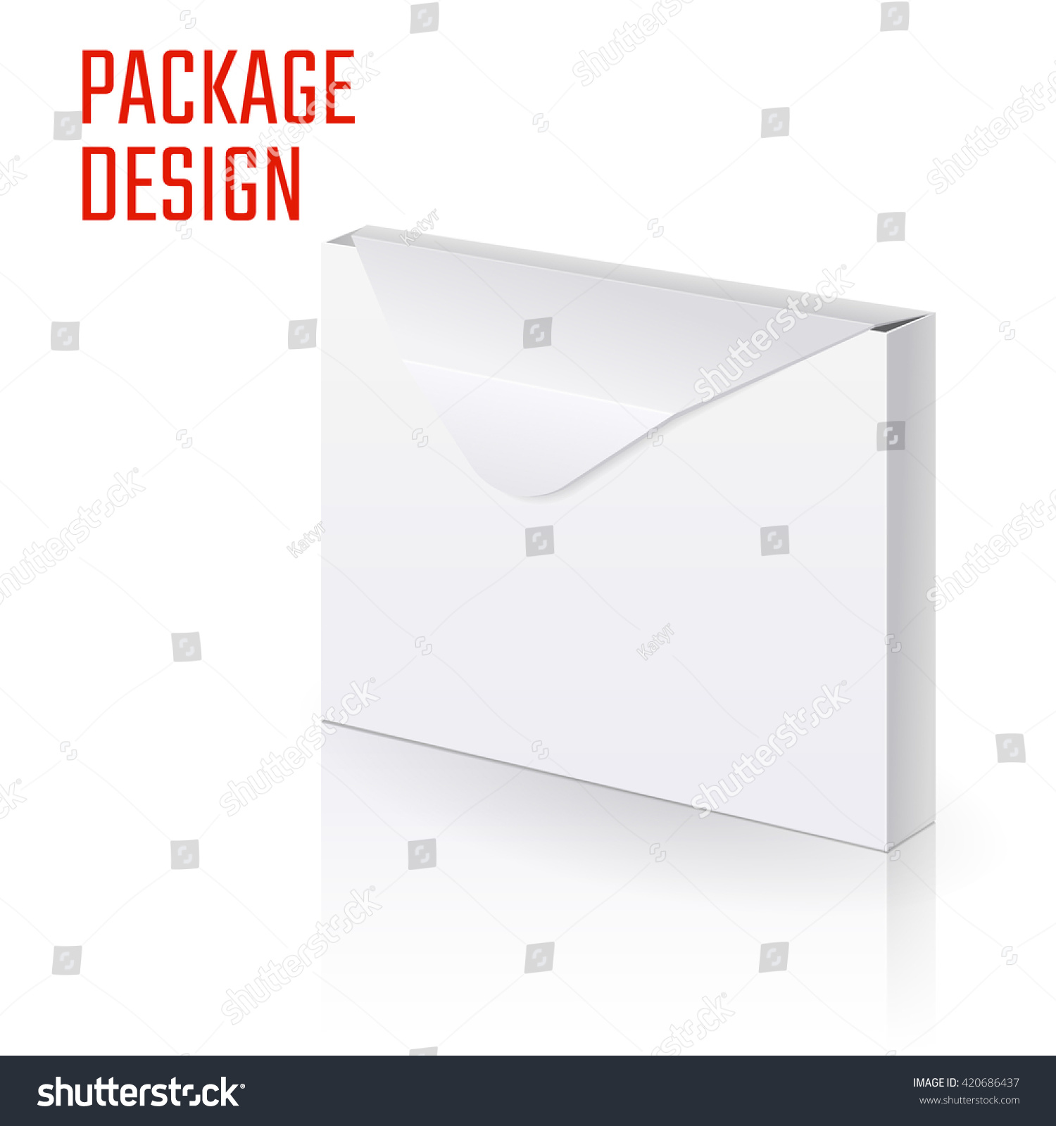 Vector illustration envelope paper craft box stock vector vector illustration of envelope paper or craft box for design website background banner jeuxipadfo Gallery