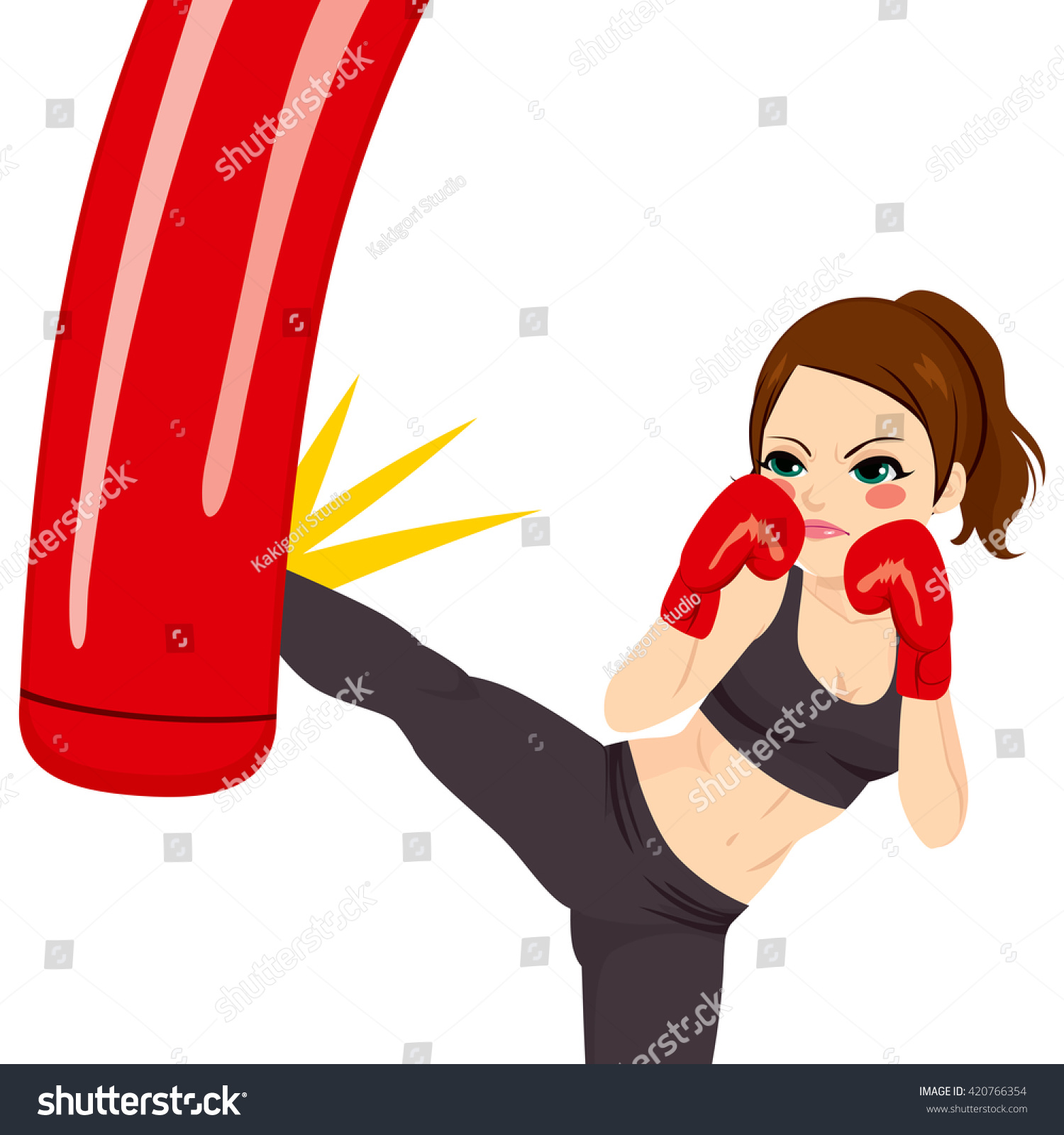 punching bag clipart - photo #29