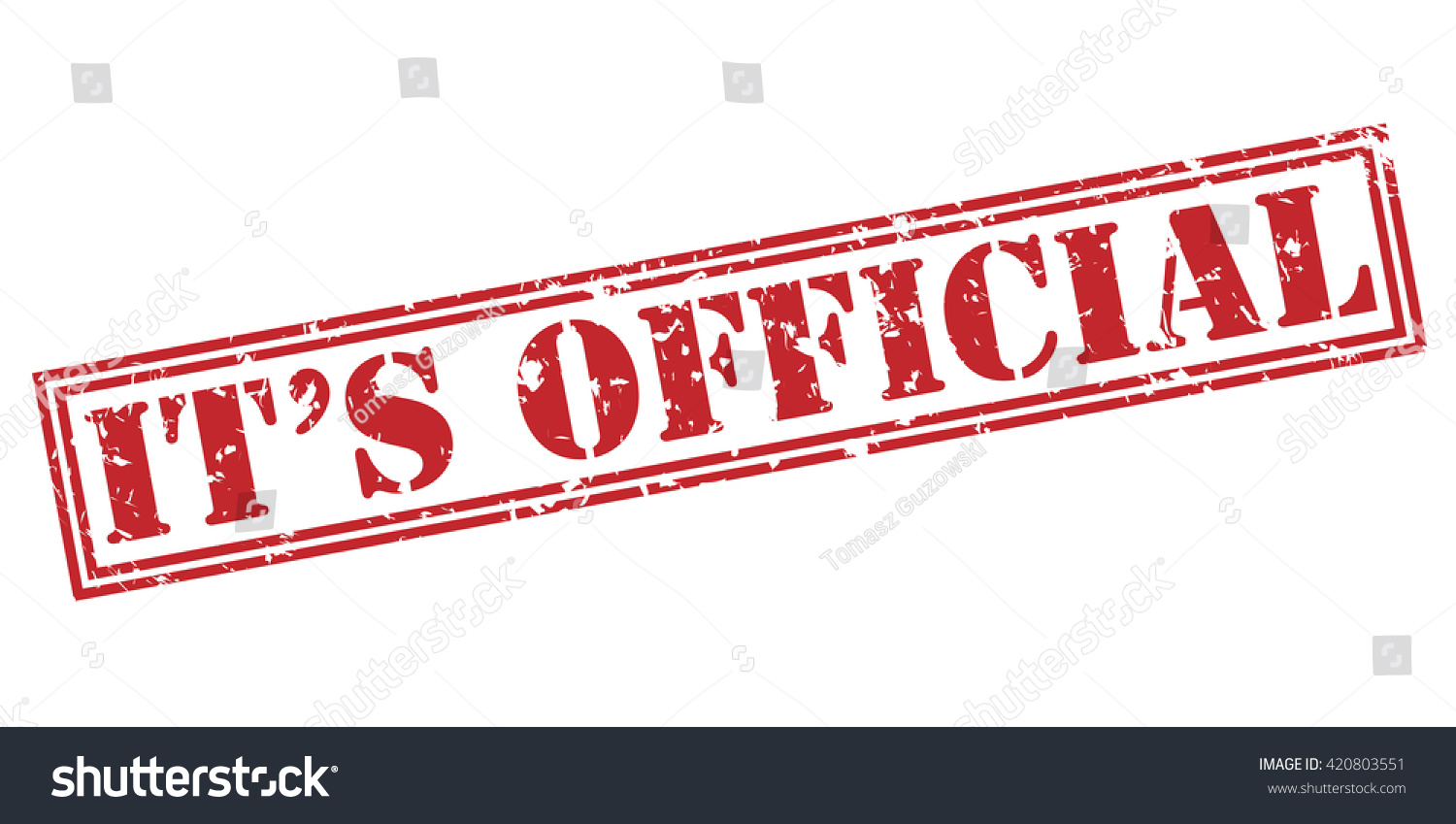official stamp stockillustration 420803551 shutterstock rh shutterstock com itsofficialmarco youtube itsofficialmarco instagram