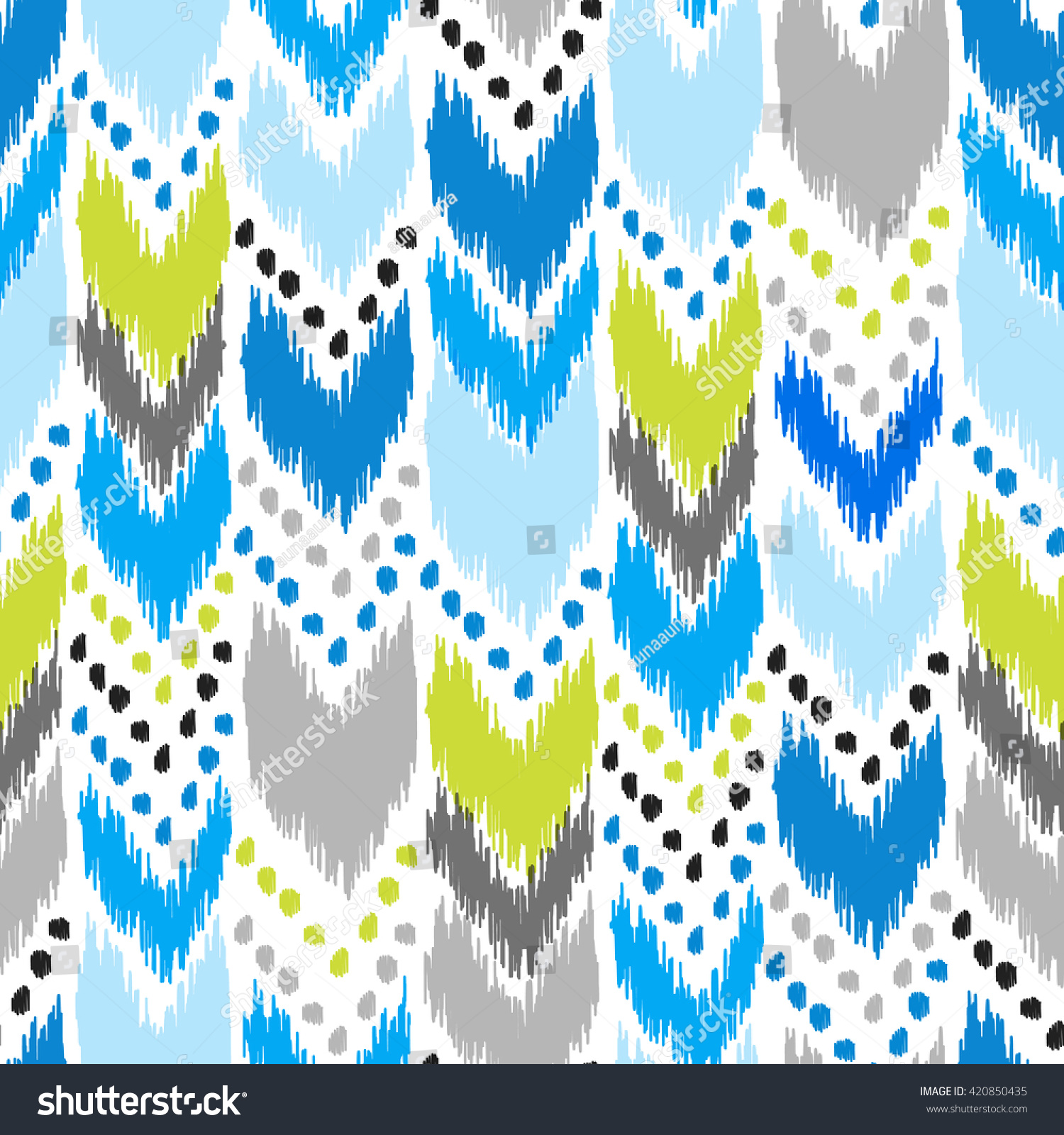 Modern American Navajo Seamless Pattern. Design May Be Used For Wallpaper, Home  Decor Textile