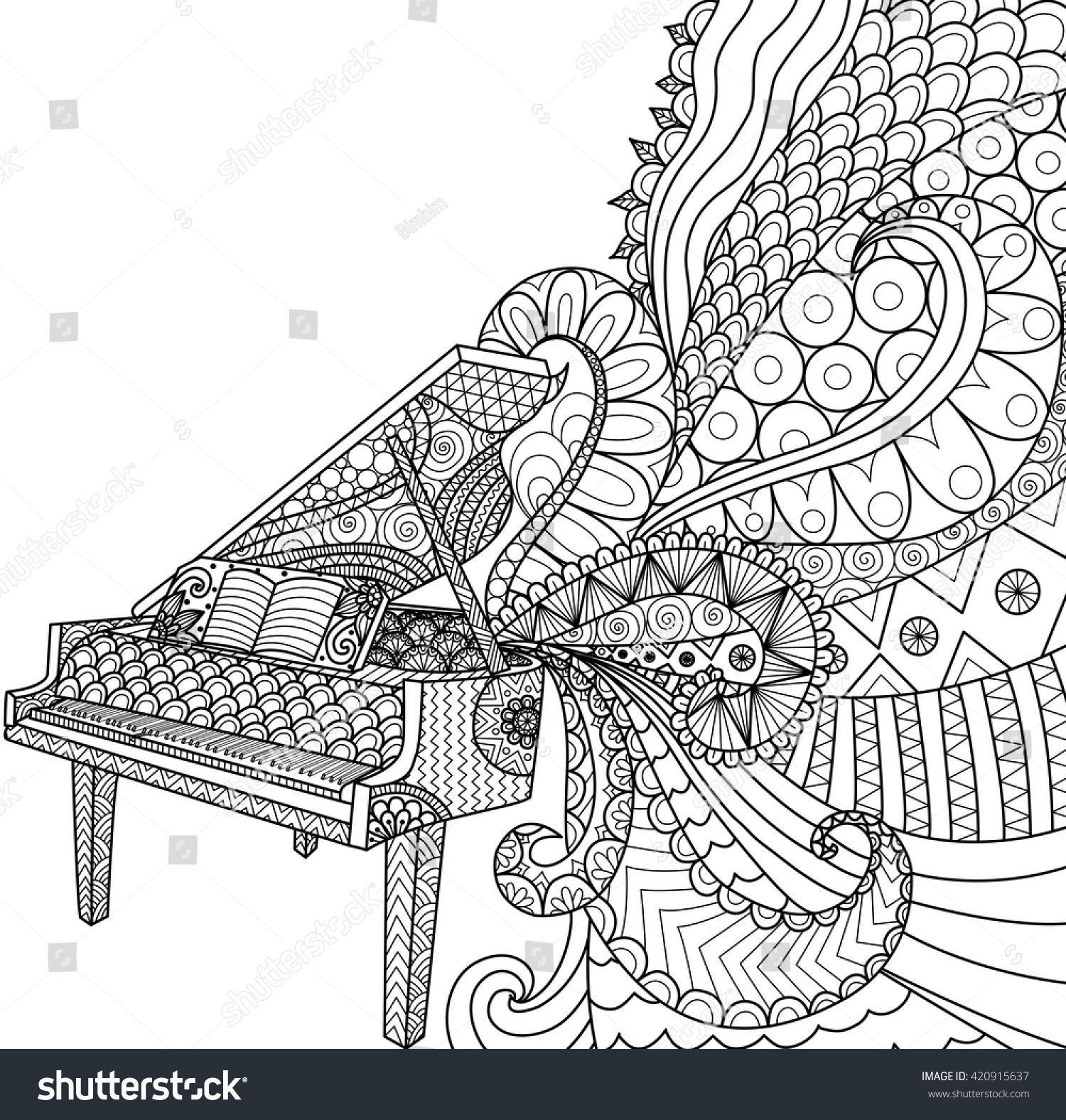 upright piano coloring page coloring page 17 best images about