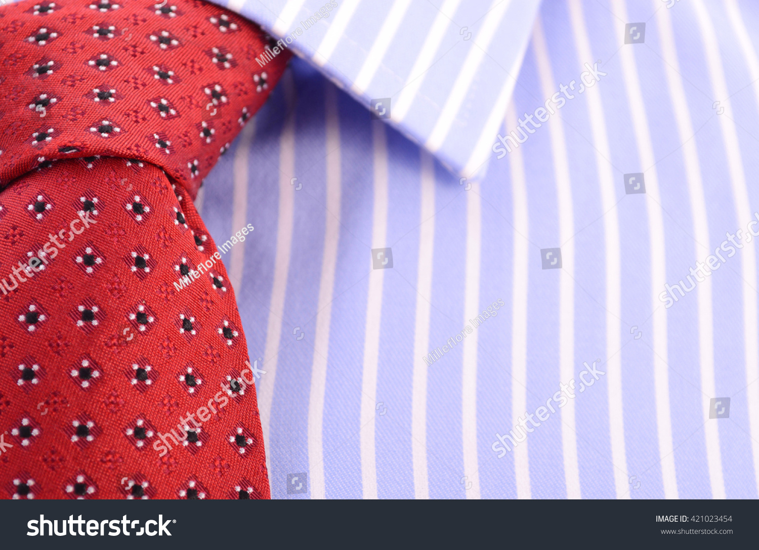 Fathers Day Concept Closeup Red Mens Stock Photo 421023454 ...