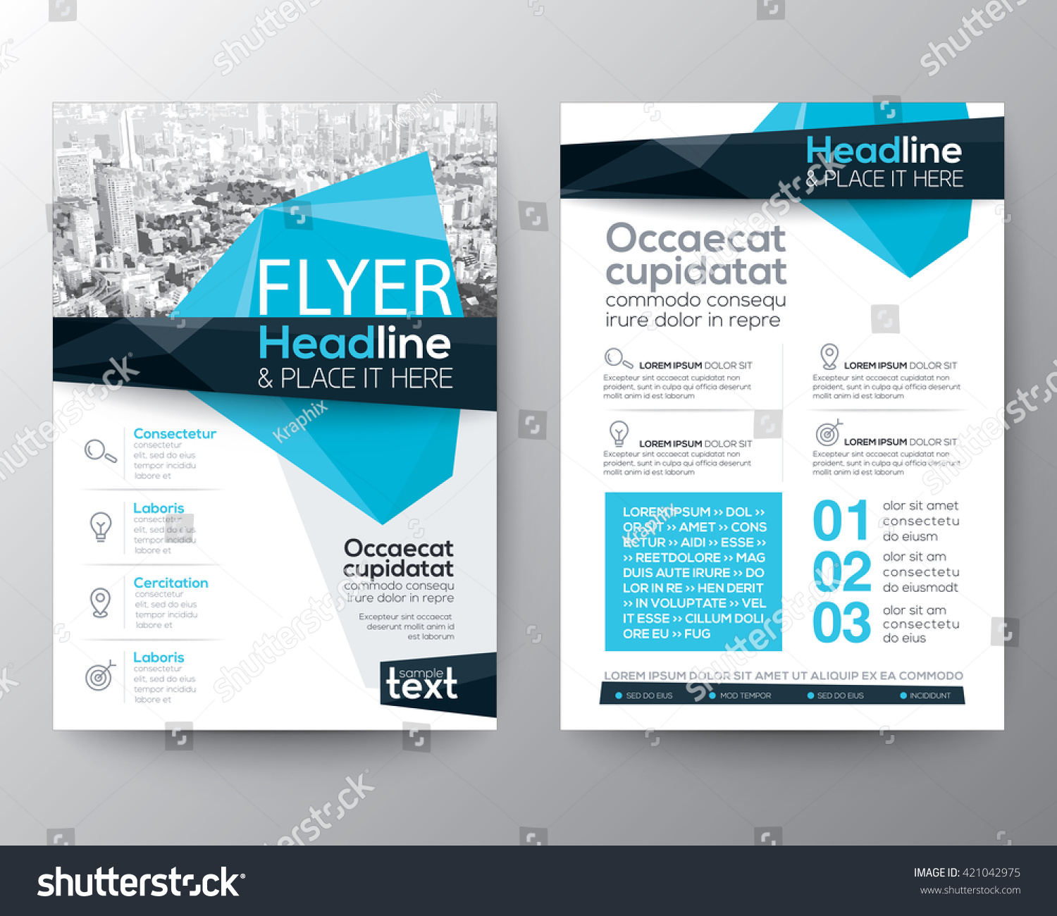 Poster design size - Abstract Low Polygon Background For Poster Brochure Flyer Design Layout Vector Template In A4 Size