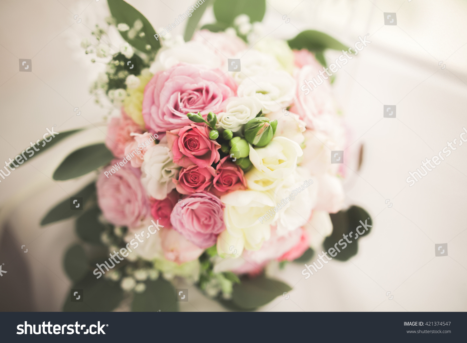 Wonderful luxury wedding bouquet of different flowers ez canvas izmirmasajfo