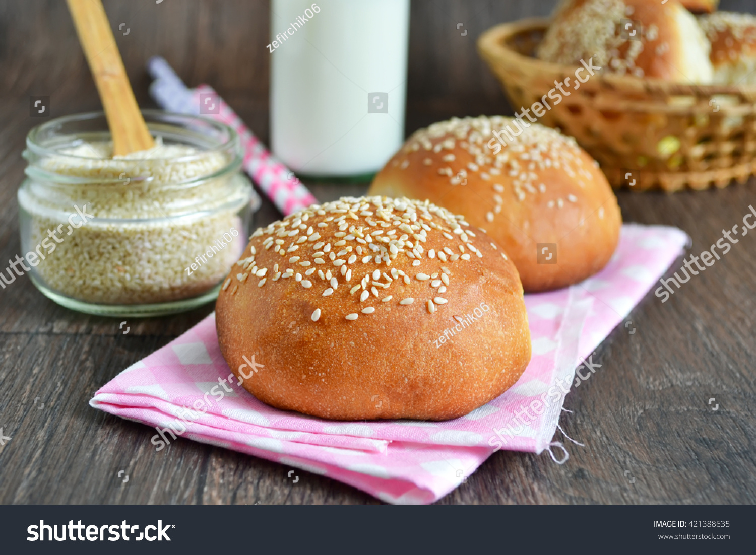 Fast Food With Whole Wheat Buns