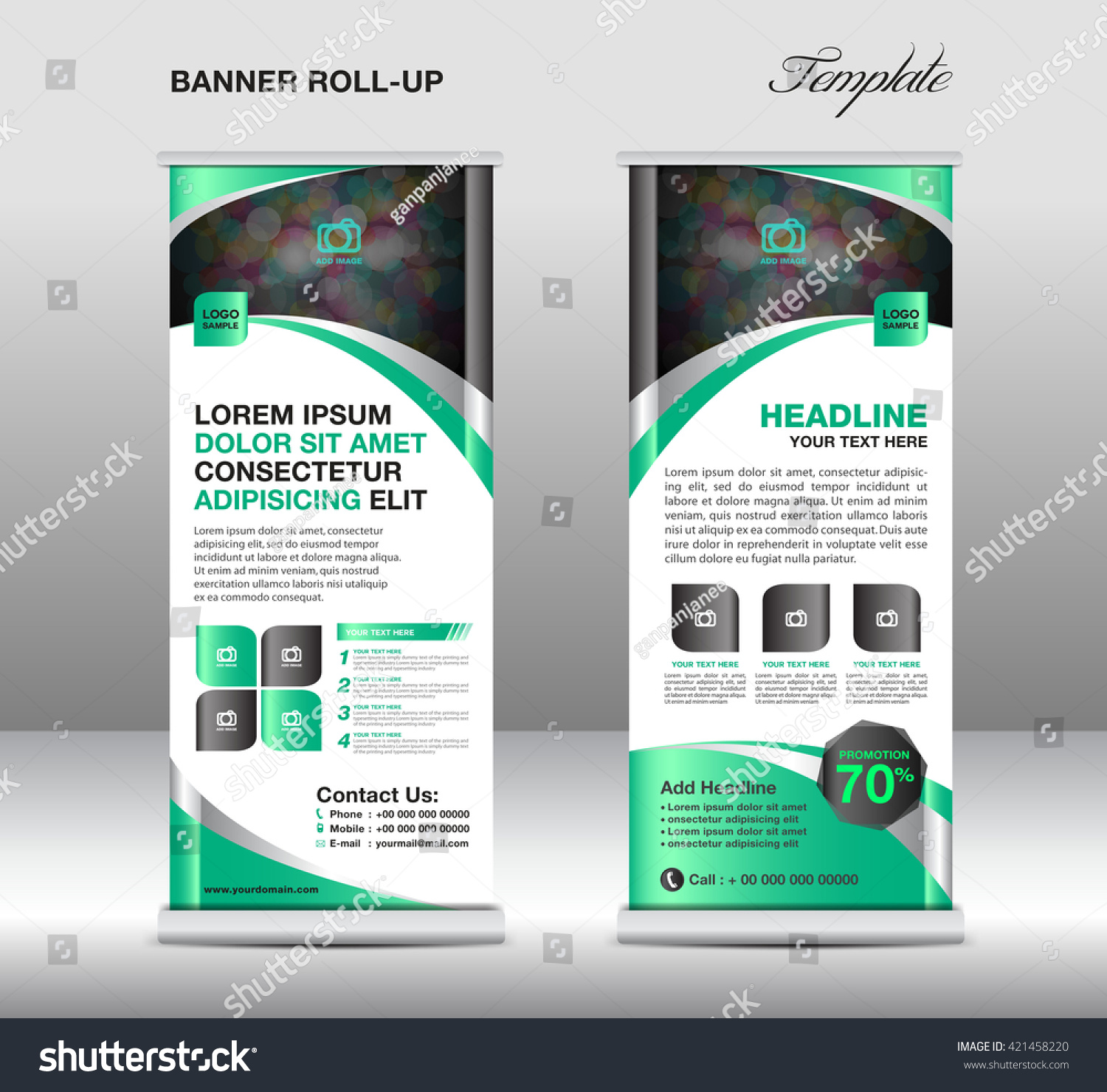 roll up banner stand template stand design advertisement flyer roll up banner stand template stand design advertisement flyer template display