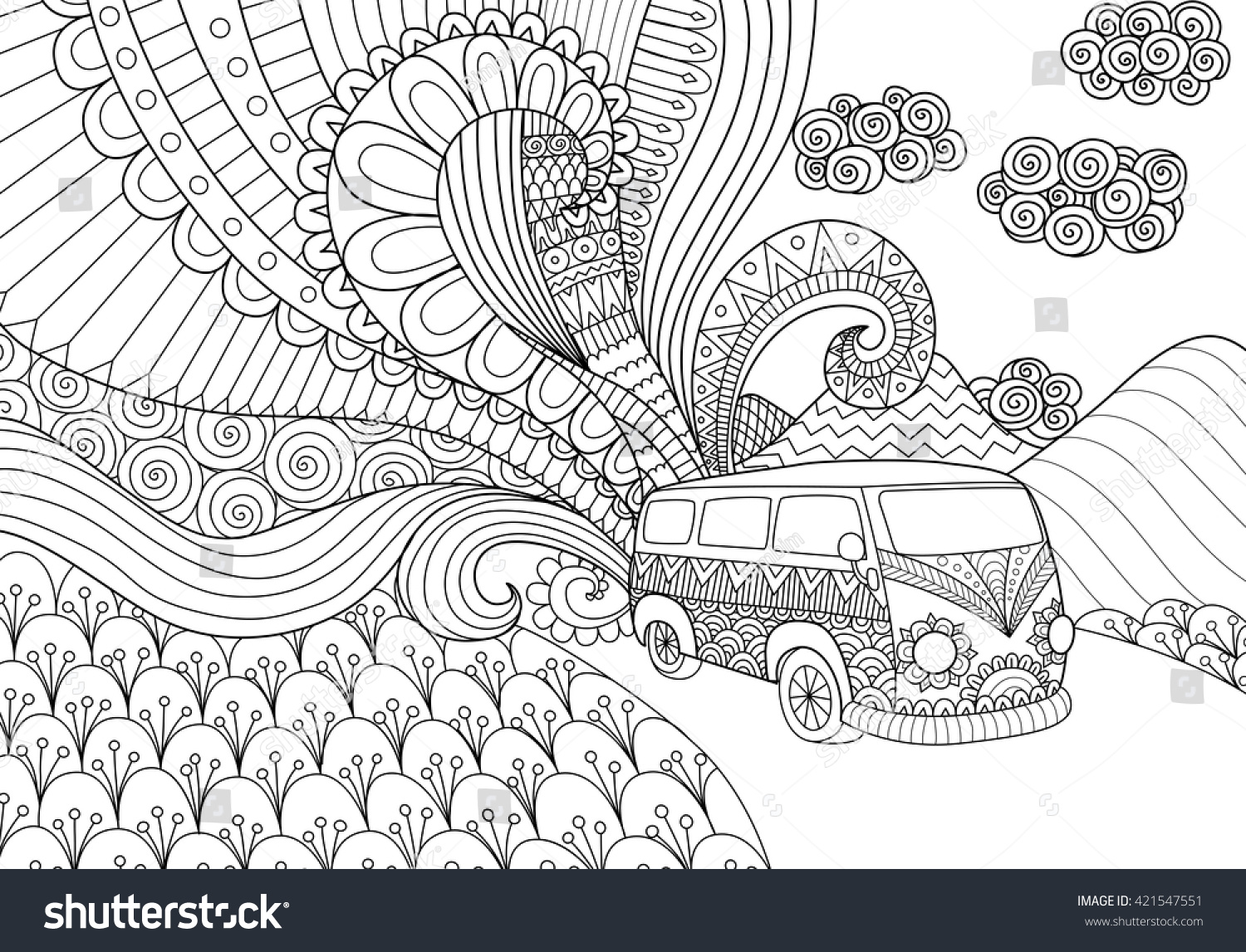 listellos line art coloring pages - photo#23