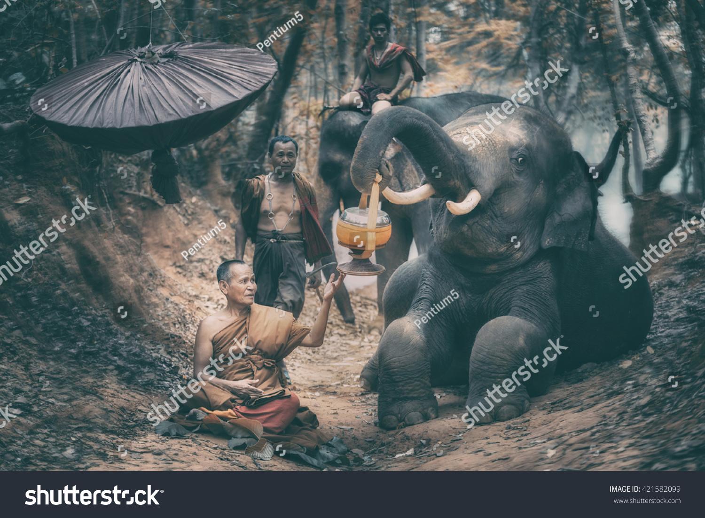 Surin Thailand May 15 2016 Buddhist Stock Photo 421582099 ...
