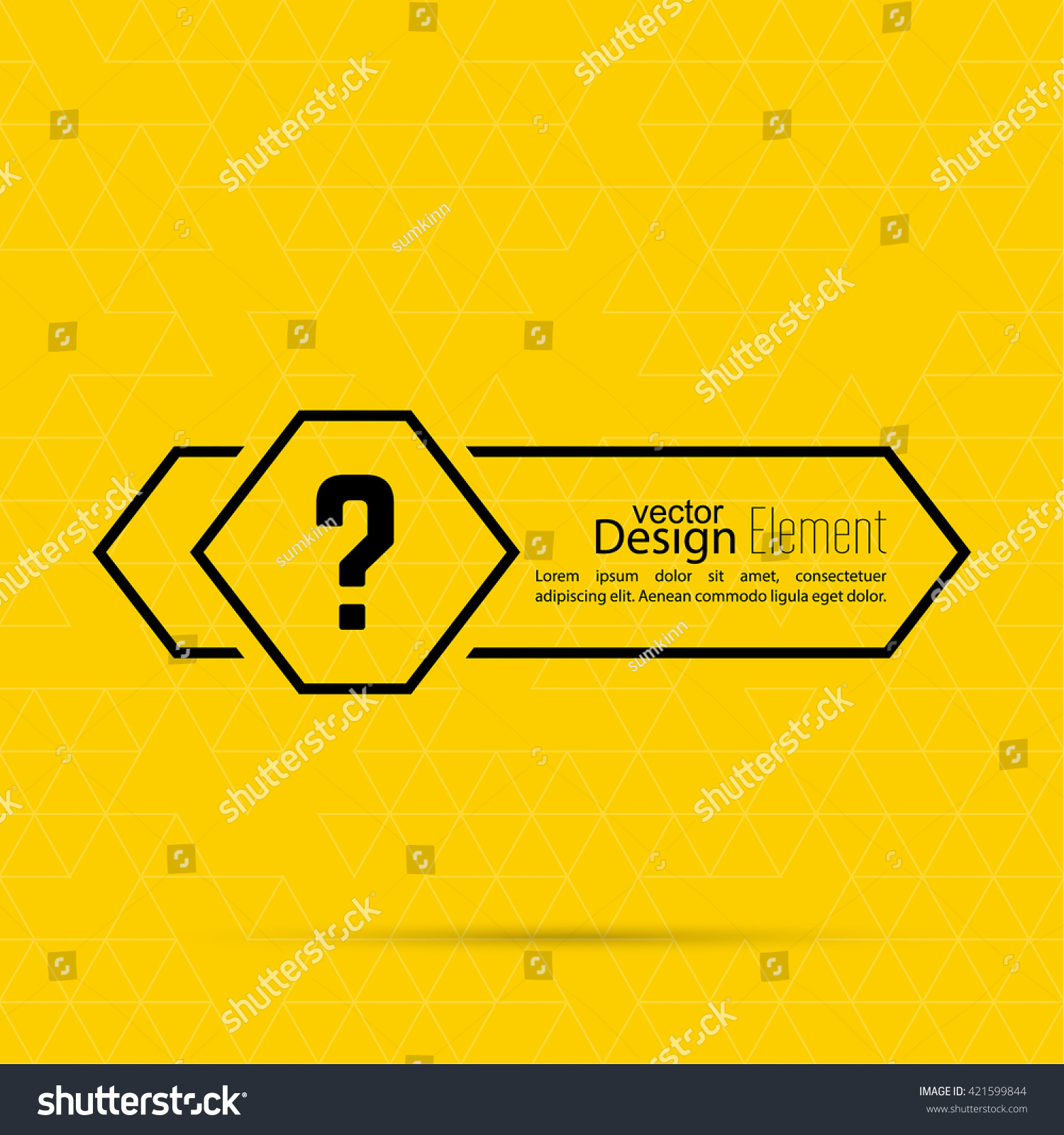 Question mark blank template help symbol stock vector 421599844 question mark blank template help symbol faq sign icon empty vector form pronofoot35fo Image collections