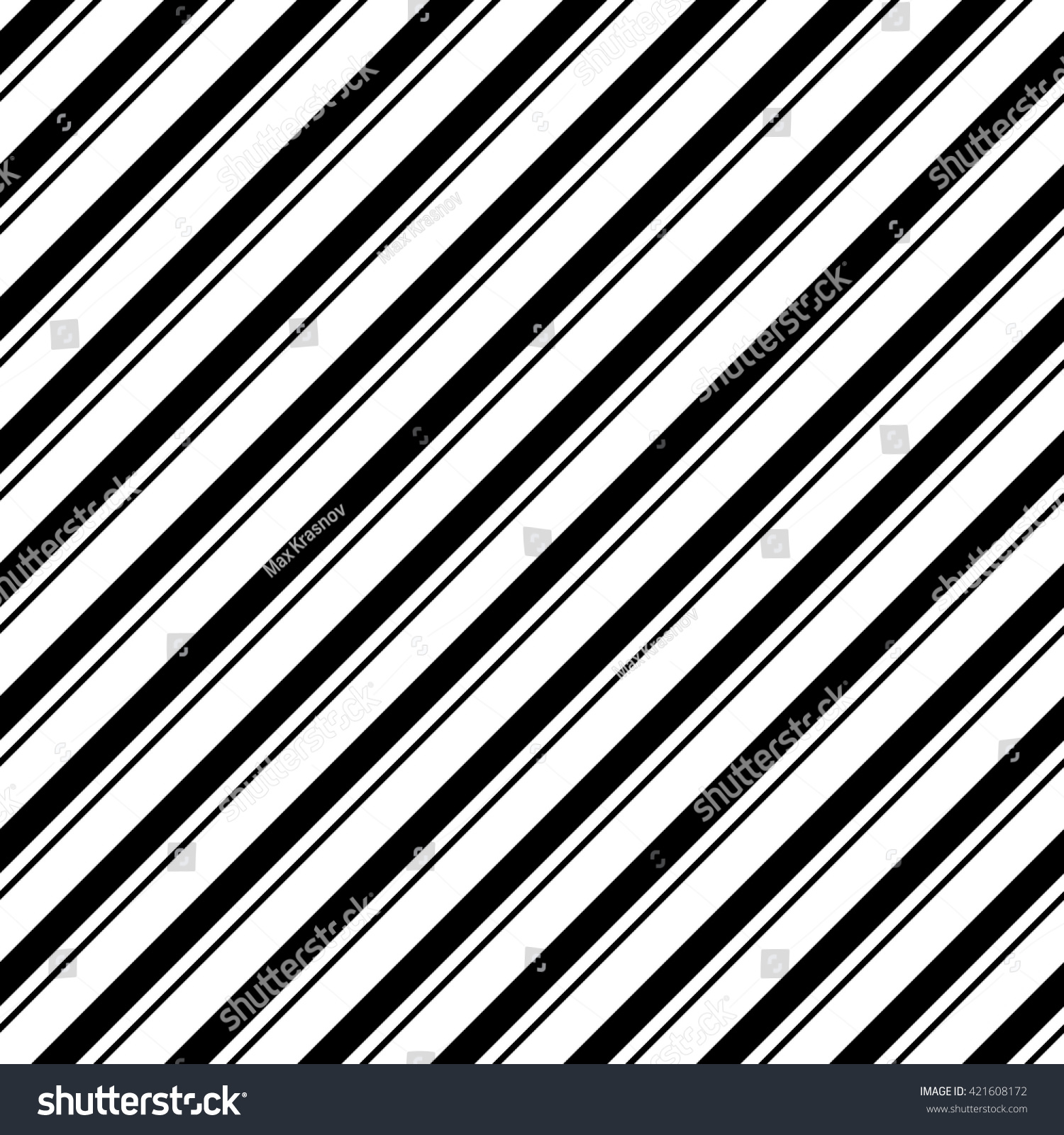 And black diagonal stripes background seamless background or wallpaper - Seamless Diagonal Stripe Pattern Vector Black And White Background Abstract Striped Wallpaper