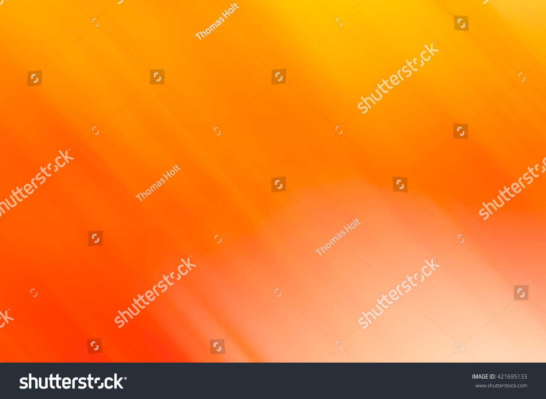 Soft Orange Color Soft Fading Blurred Background Orange Yellow Stock Photo 421695133