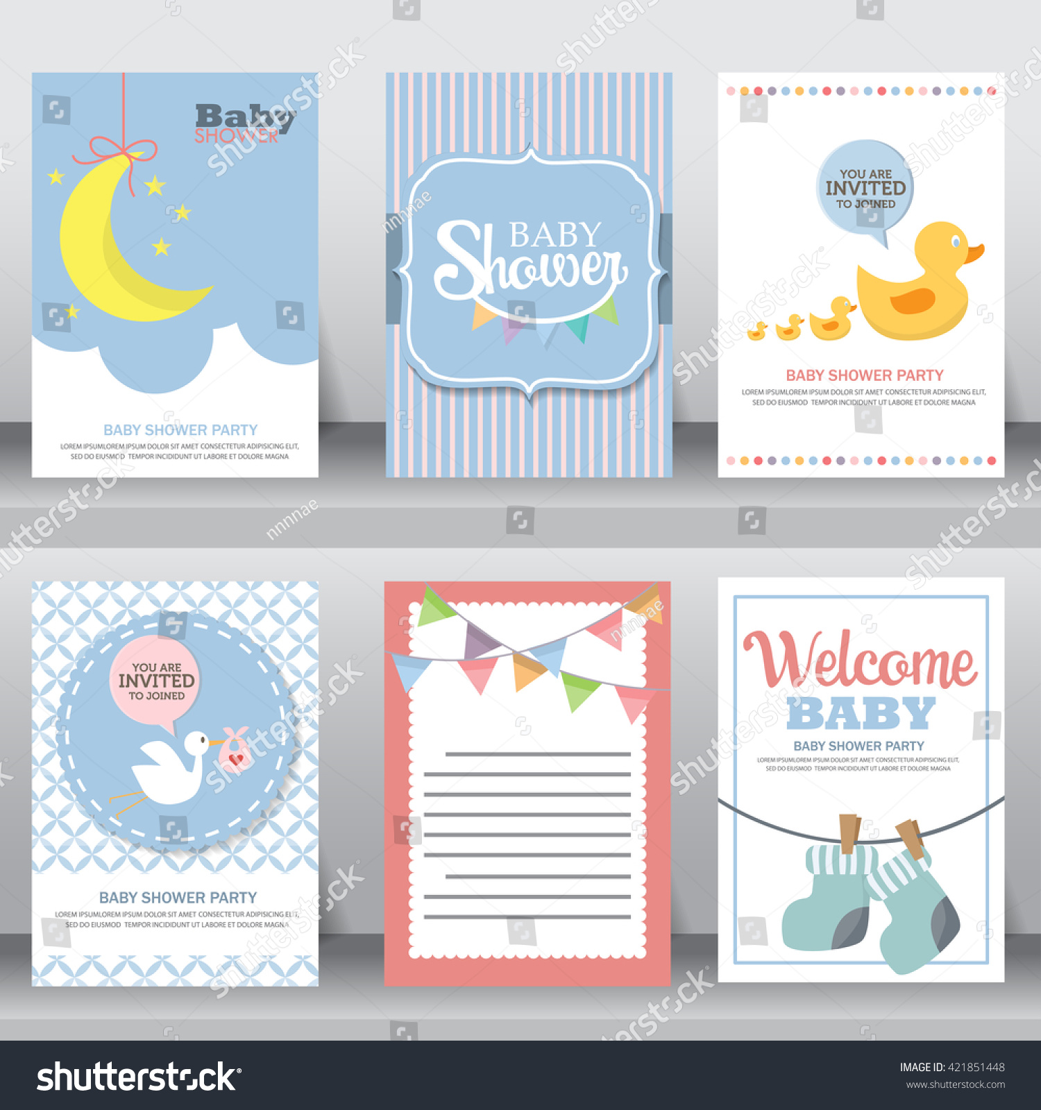 happy birthday holiday baby shower celebration stock vector 421851448 shutterstock. Black Bedroom Furniture Sets. Home Design Ideas