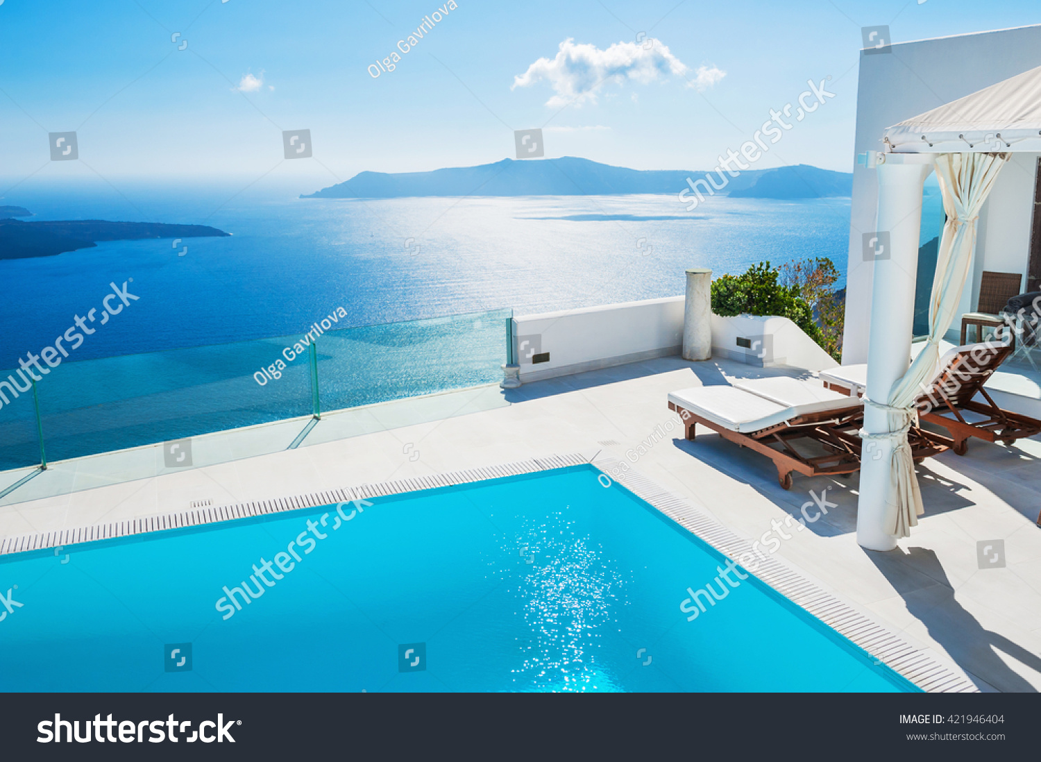 Santorini island, Greece #421946404