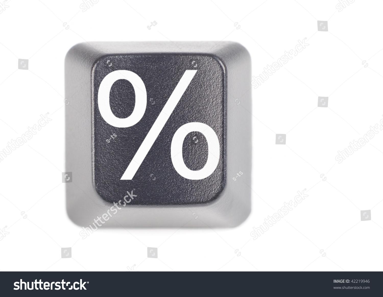 Percentage symbol keyboard button macro stock photo 42219946 percentage symbol keyboard button macro buycottarizona