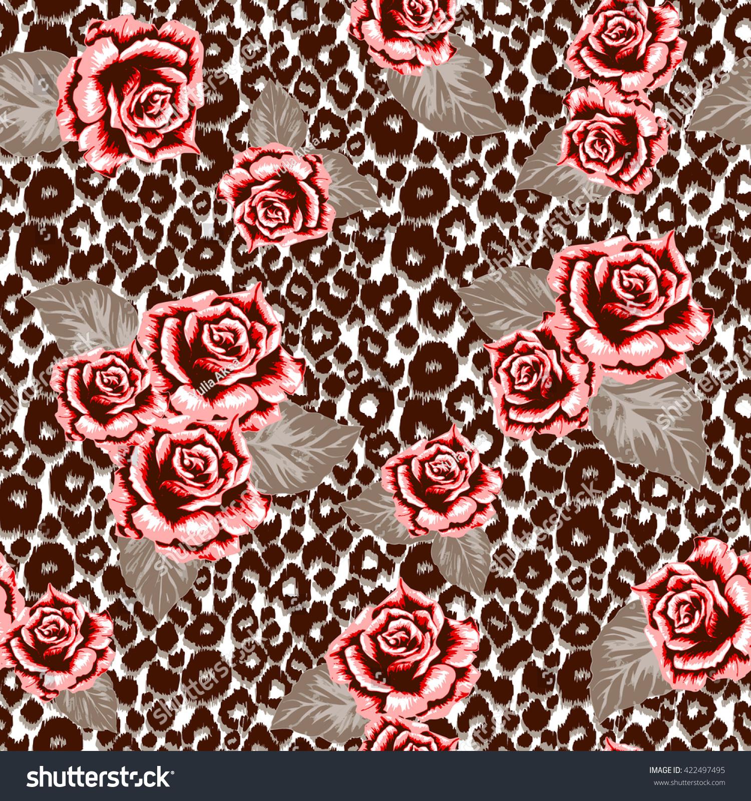 wallpaper pattern pink rose