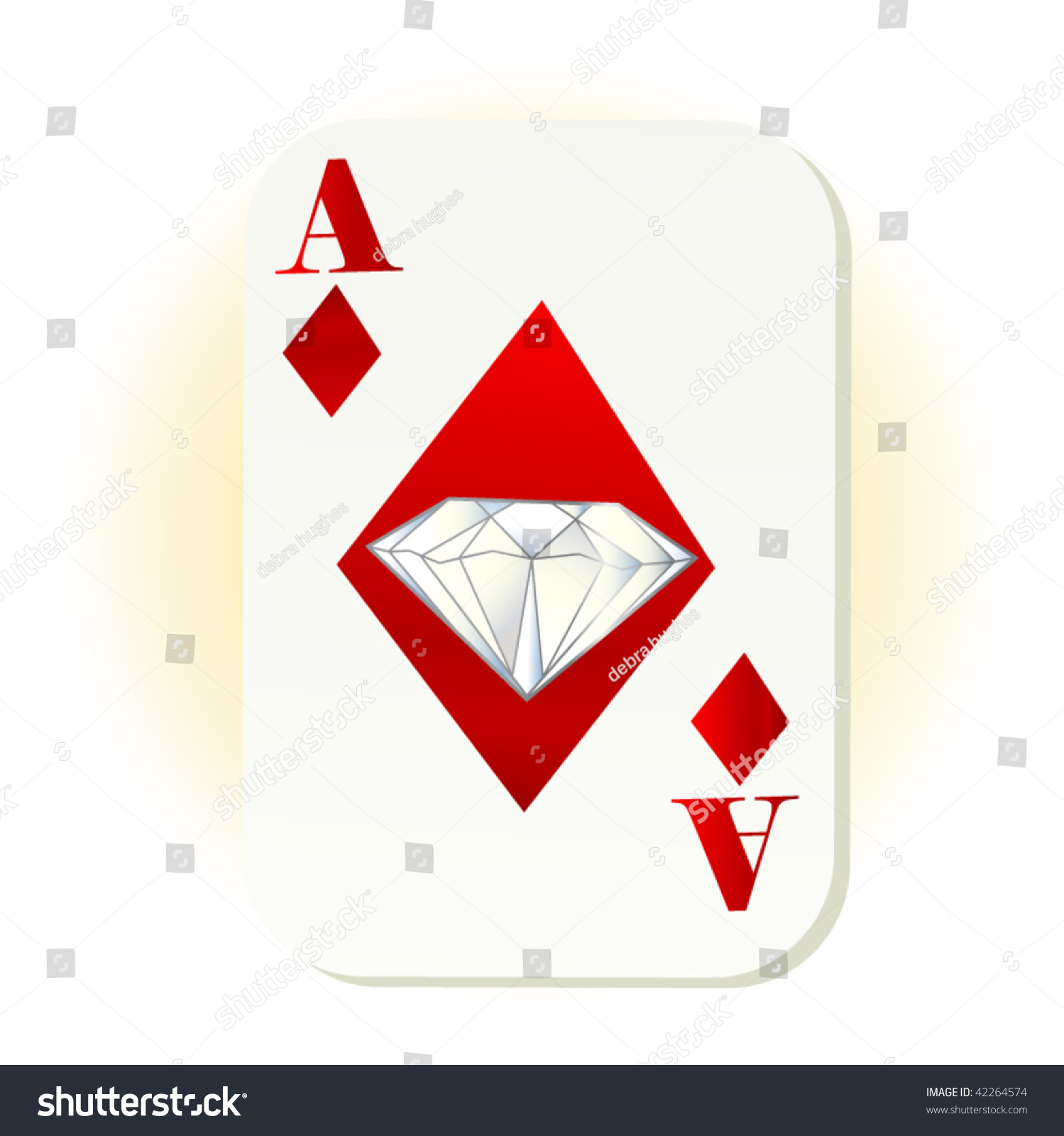 diamond free suits image black vector royalty background red card