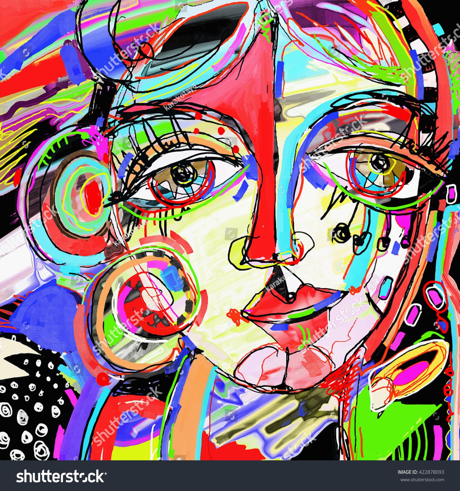 Contemporary Line Drawing Artists : Editor de imagens e fotos on line shutterstock