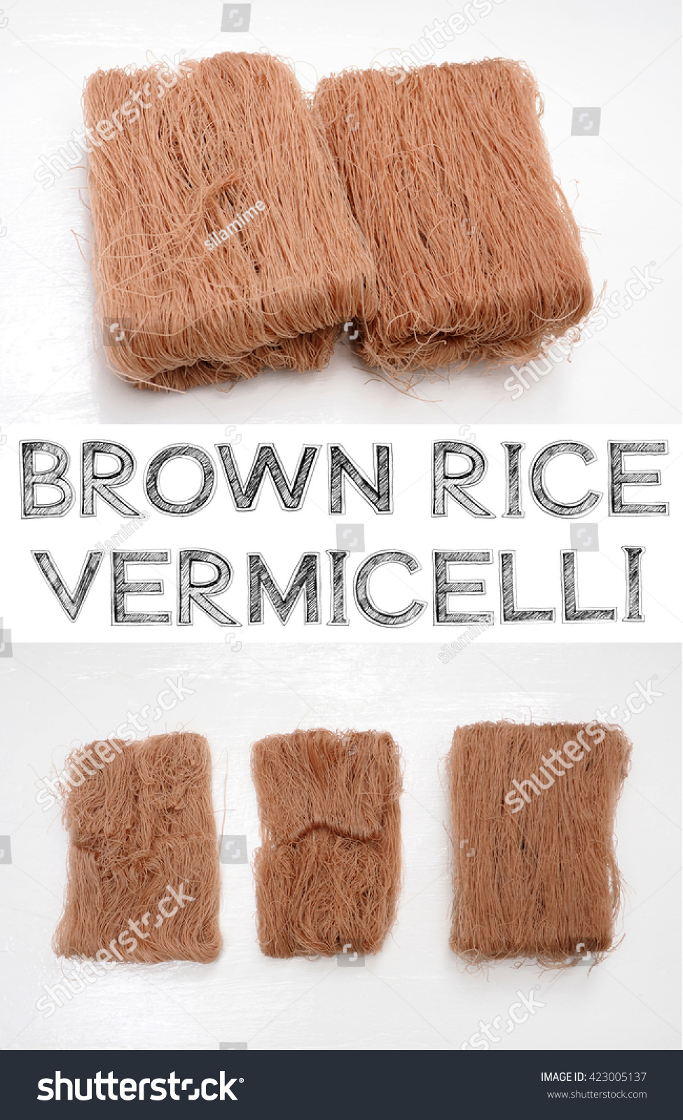 Brown Rice Vermicelli Have To Step For Separated From The Pack How To Cook  Brown Rice