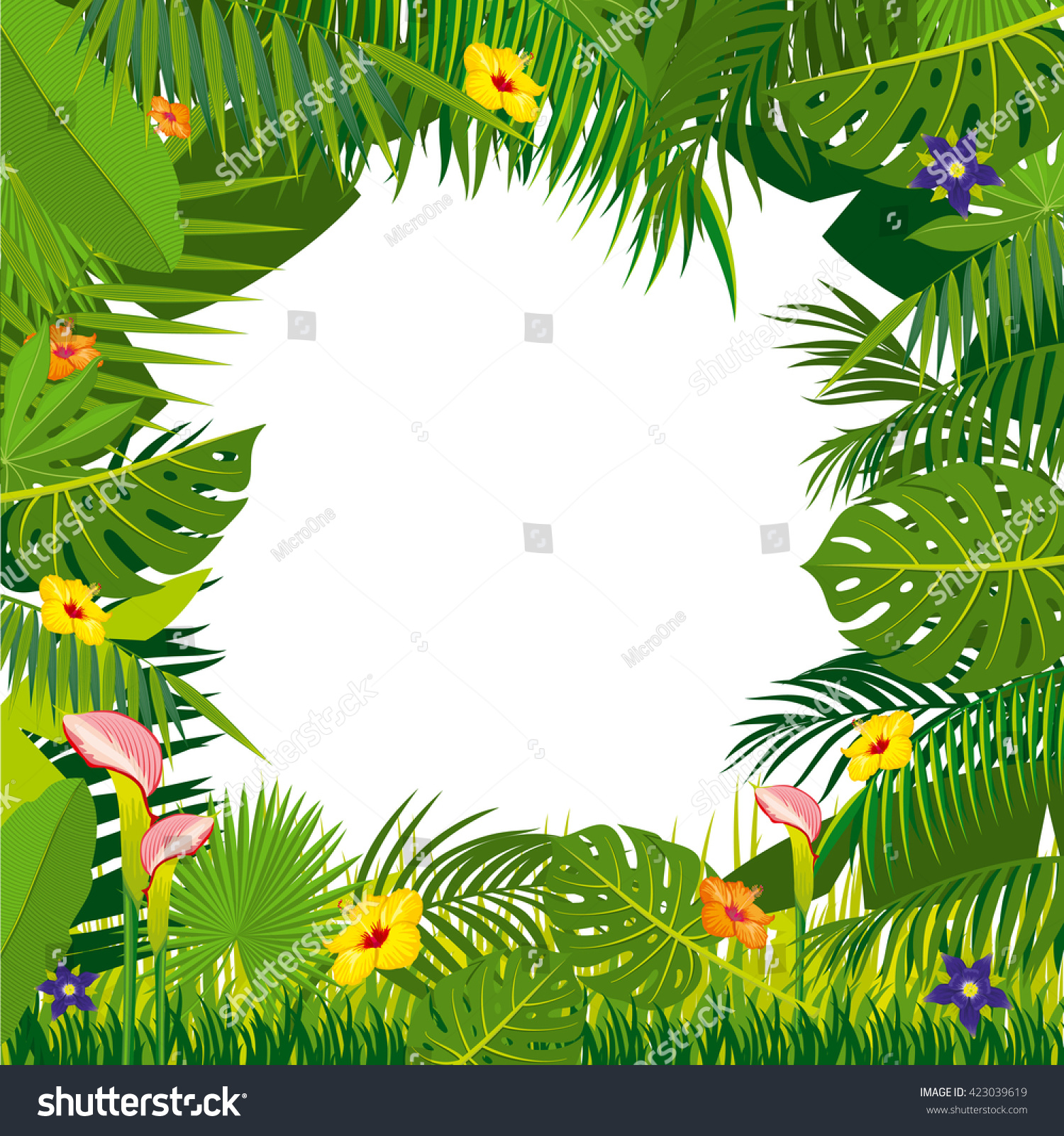 Jungle Vines Vector | www.pixshark.com - Images Galleries ...
