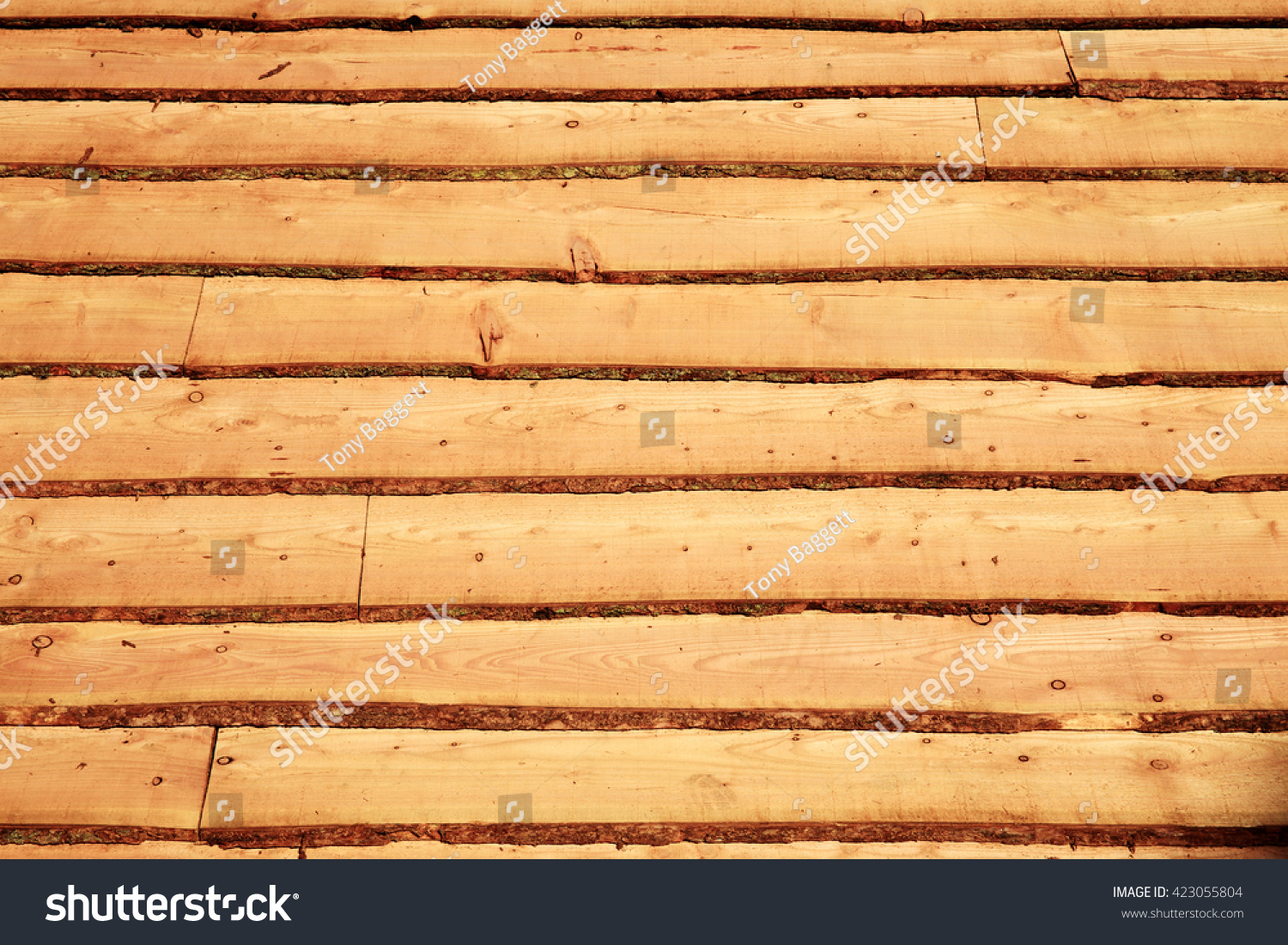 Rough Wood Planks ~ Rough cut wood planks background stock photo