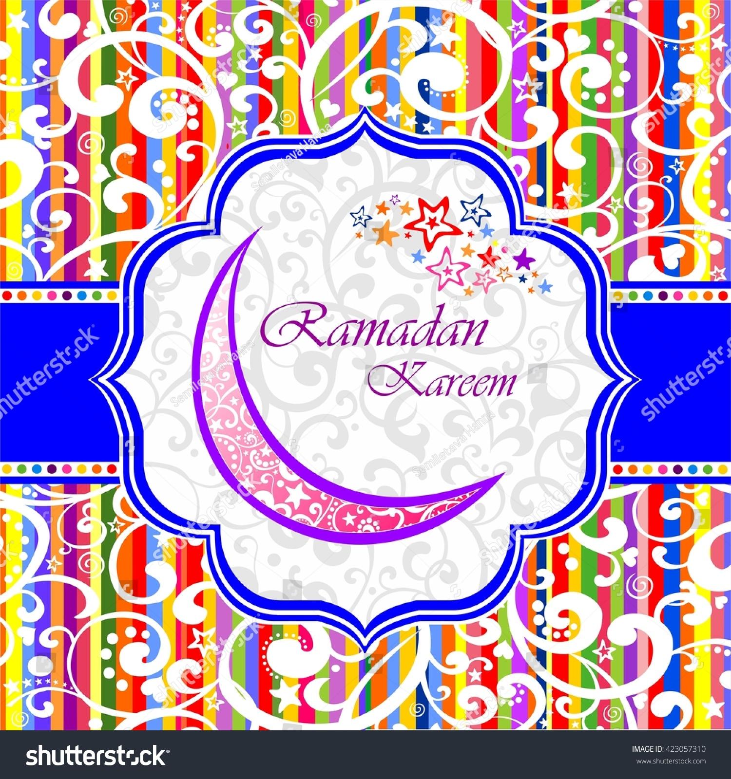 Ramadan greetings arabic script islamic greeting stock illustration ramadan greetings in arabic script an islamic greeting card for holy month of ramadan kareem kristyandbryce Image collections