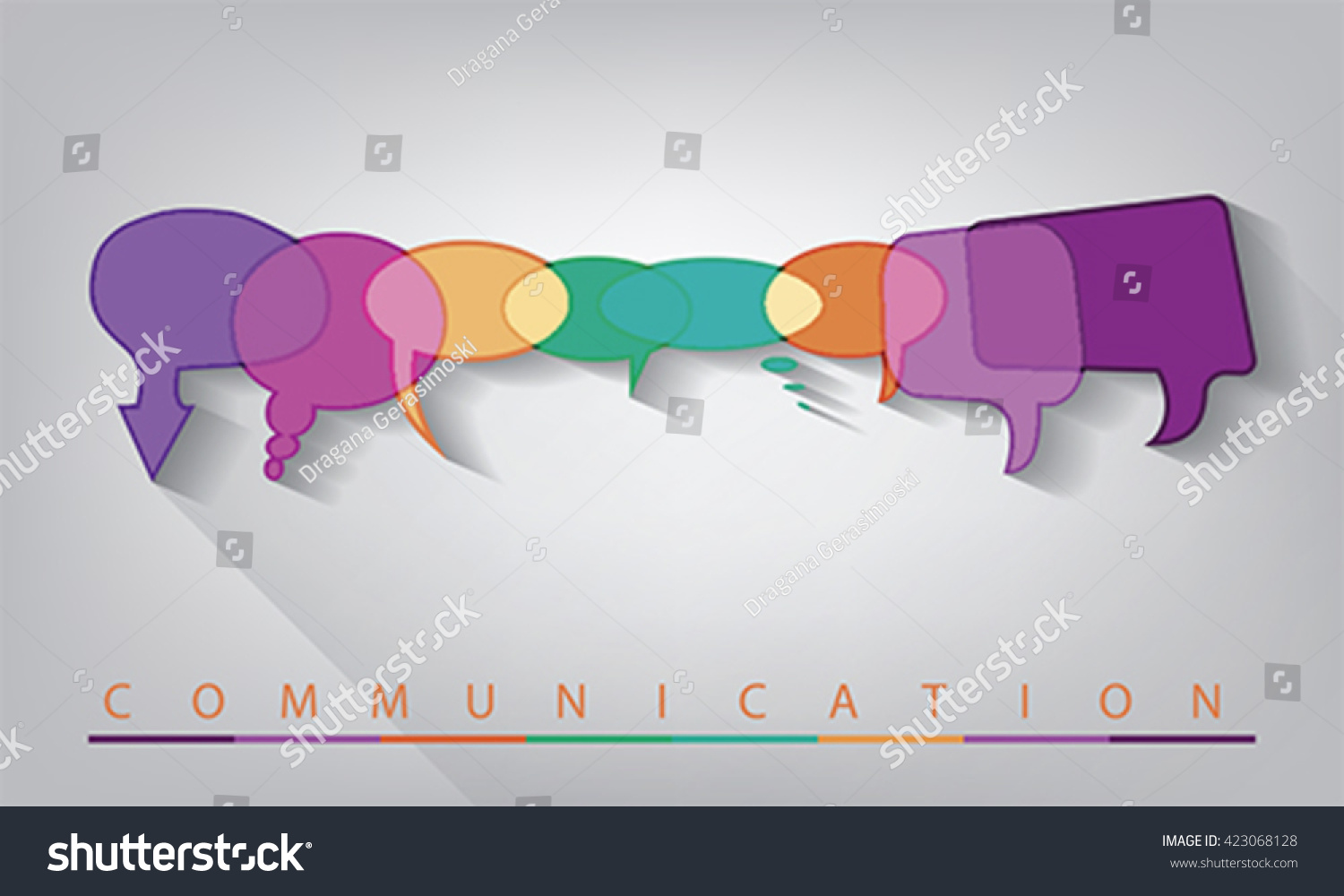 conceptions of communication Communication is sharing information between two or more individuals, the act of conveying information communication has so many components, and failing to communicate in the workplace.