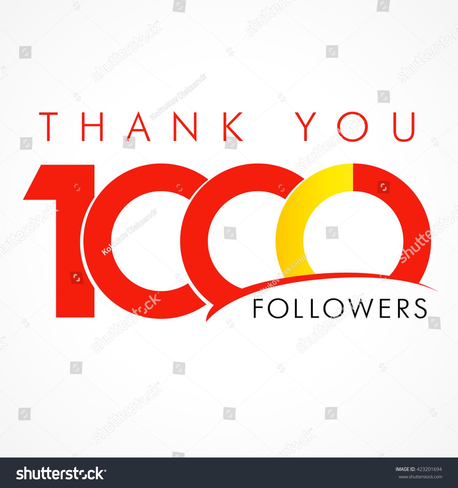 thanks 1000 logotype congratulating coloured networking のベクター