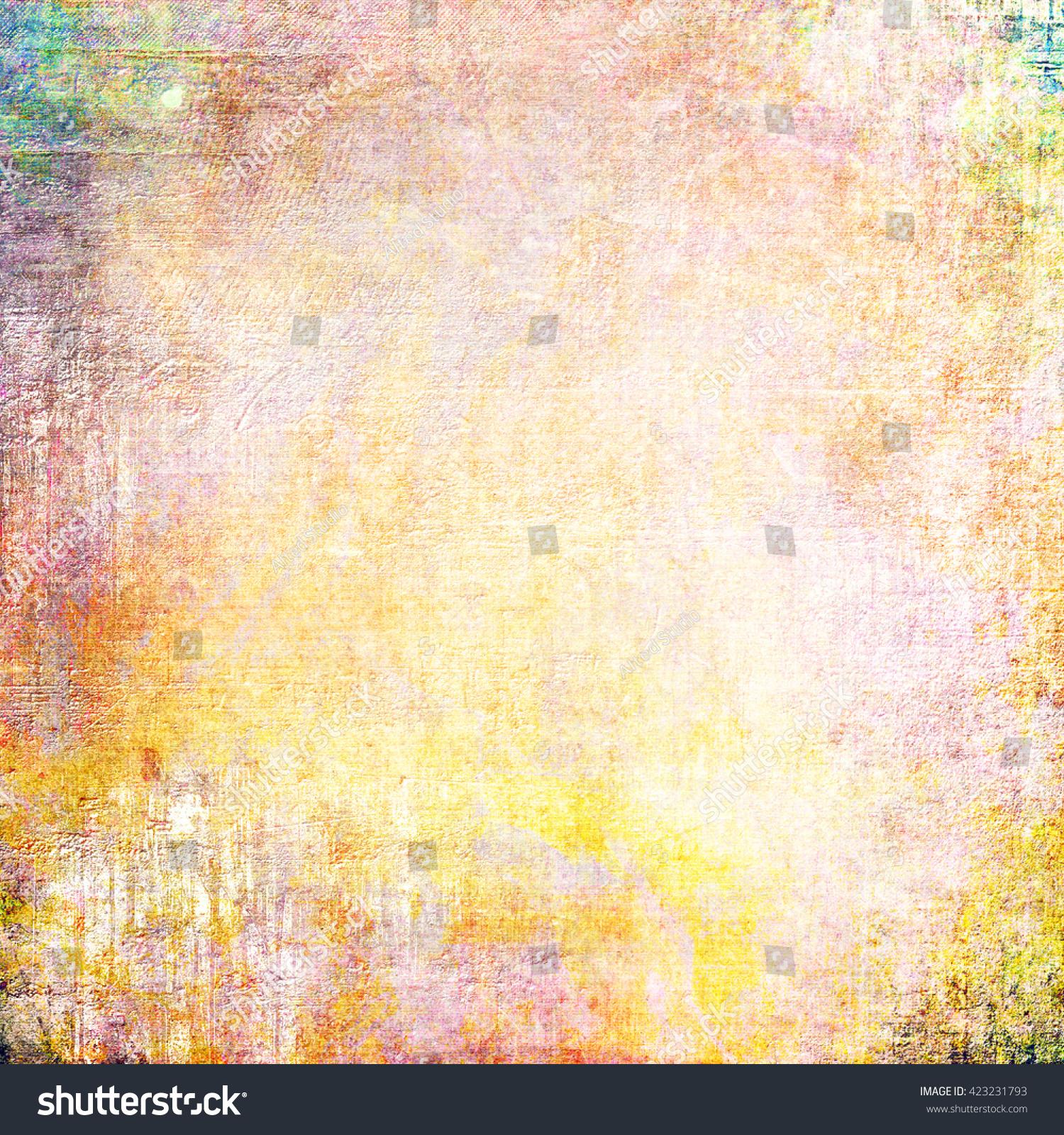 abstract orange background | EZ Canvas